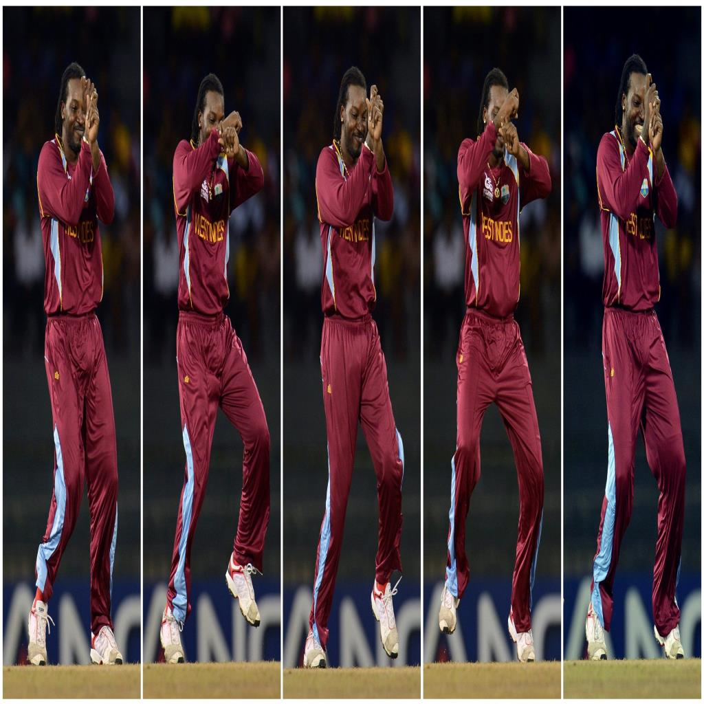 Chris Gayle West Indies Cricketer Doing Dance Garanam Style