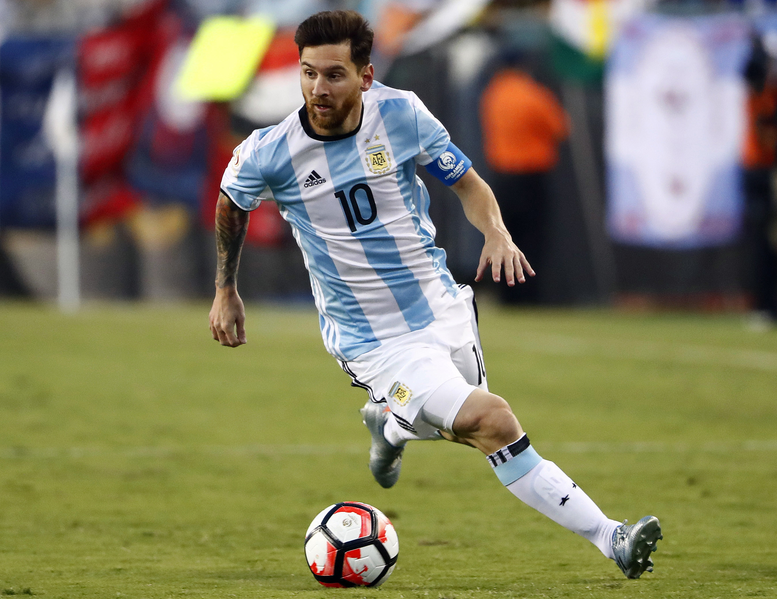Lionel Messi In Argentina Football Team Fifa World Cup 2018 Hd