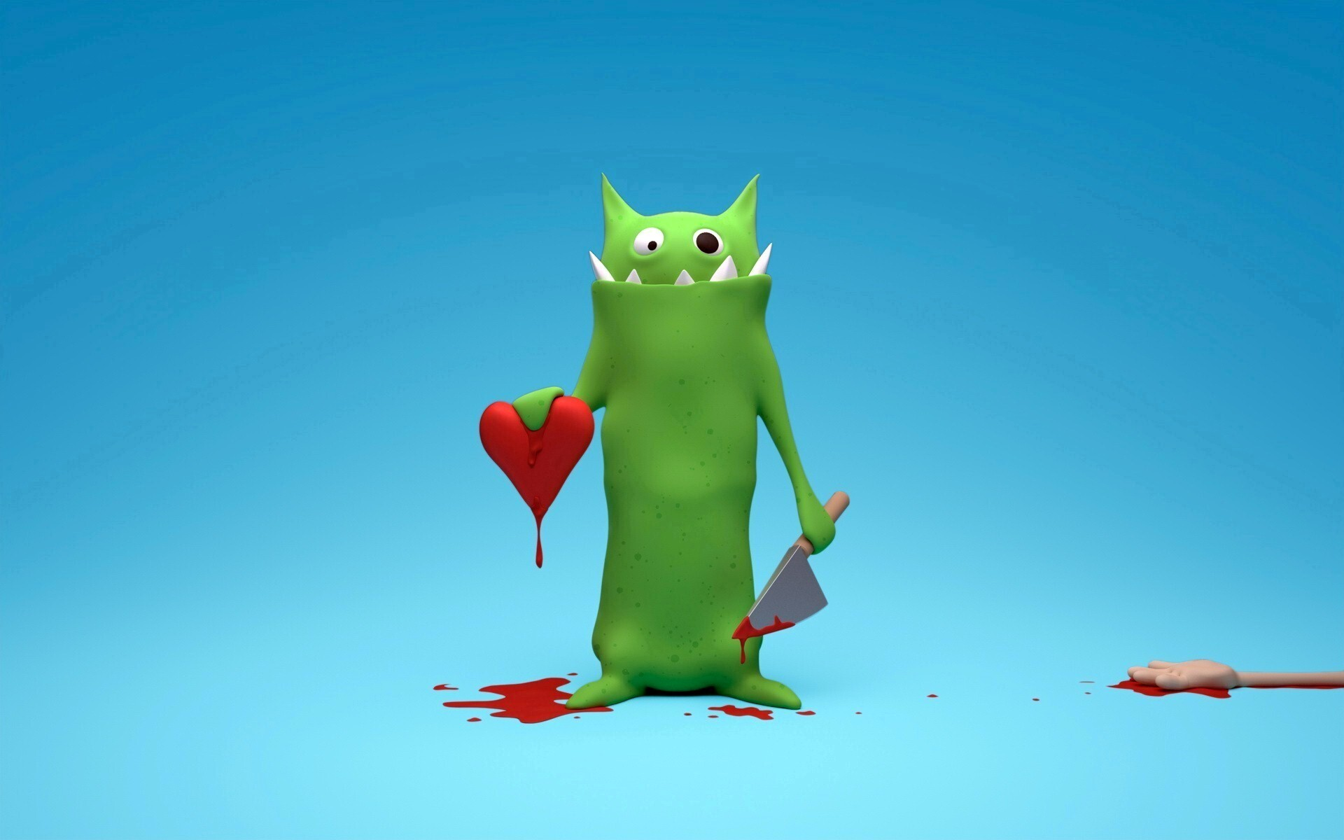 3d angry love cartoon hd wallpapers