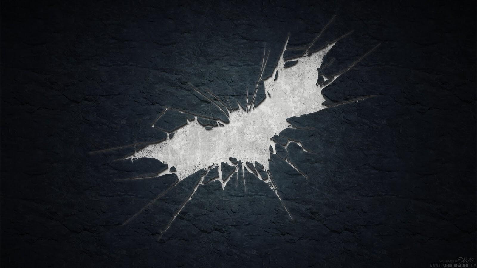 3d Batman Symbol In Back Background Hd Wallpapers
