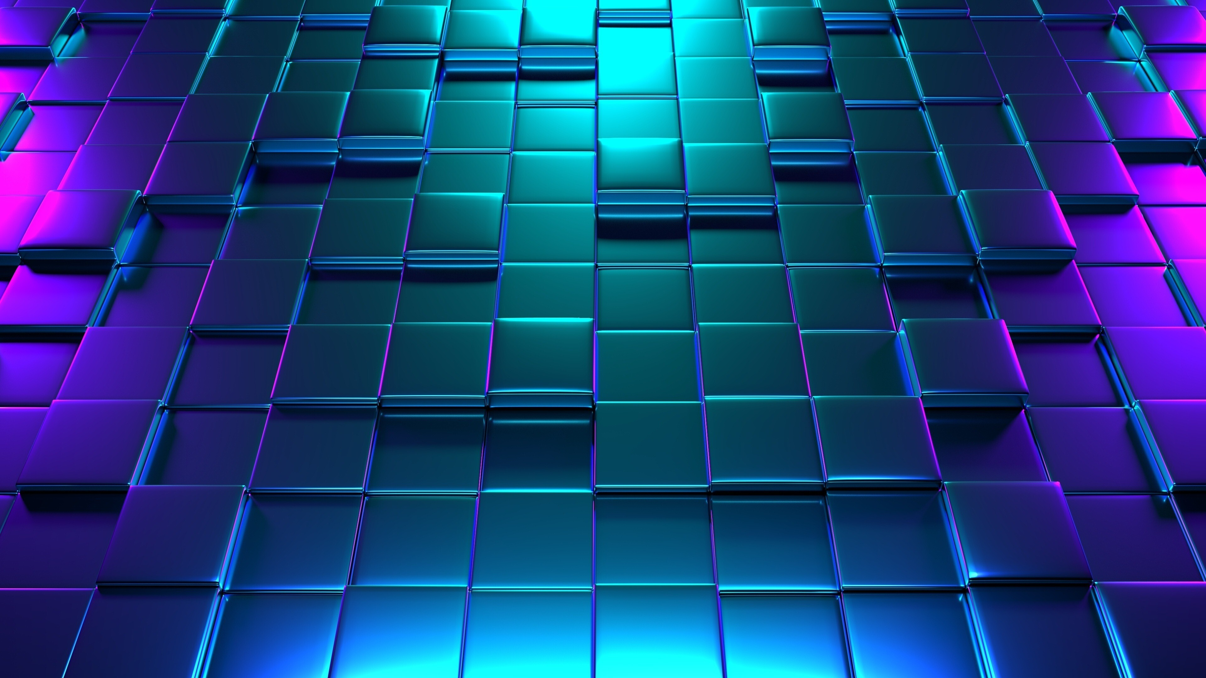 4k Wallpaper Of 3d Colorful Cubes Hd Wallpapers