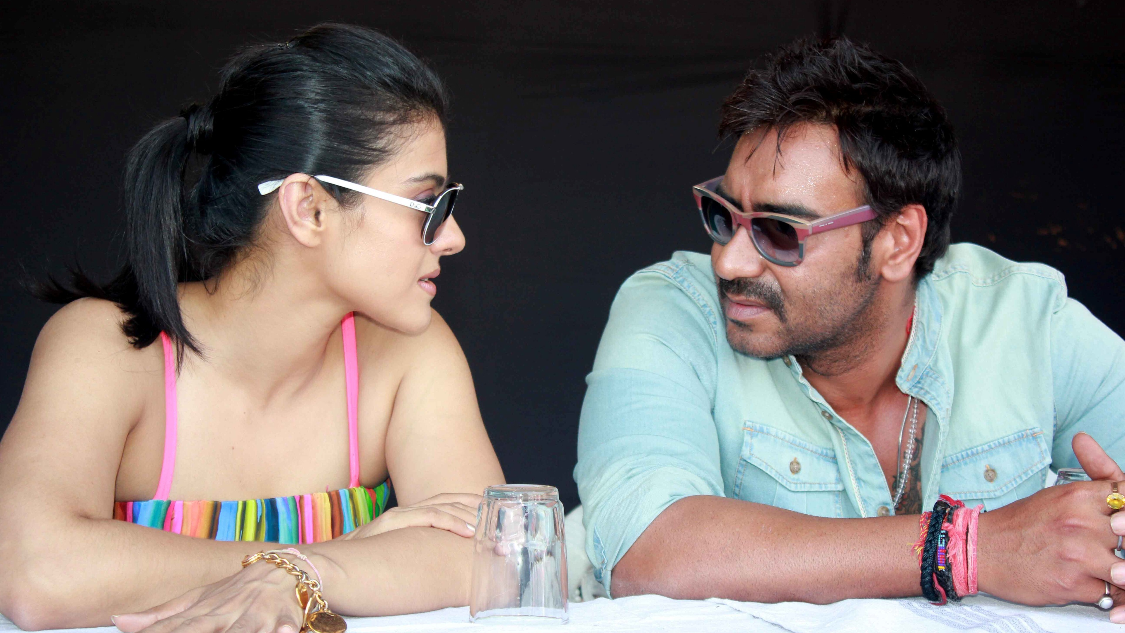 Ajay Devgan and Kajol HD Photo | HD Wallpapers
