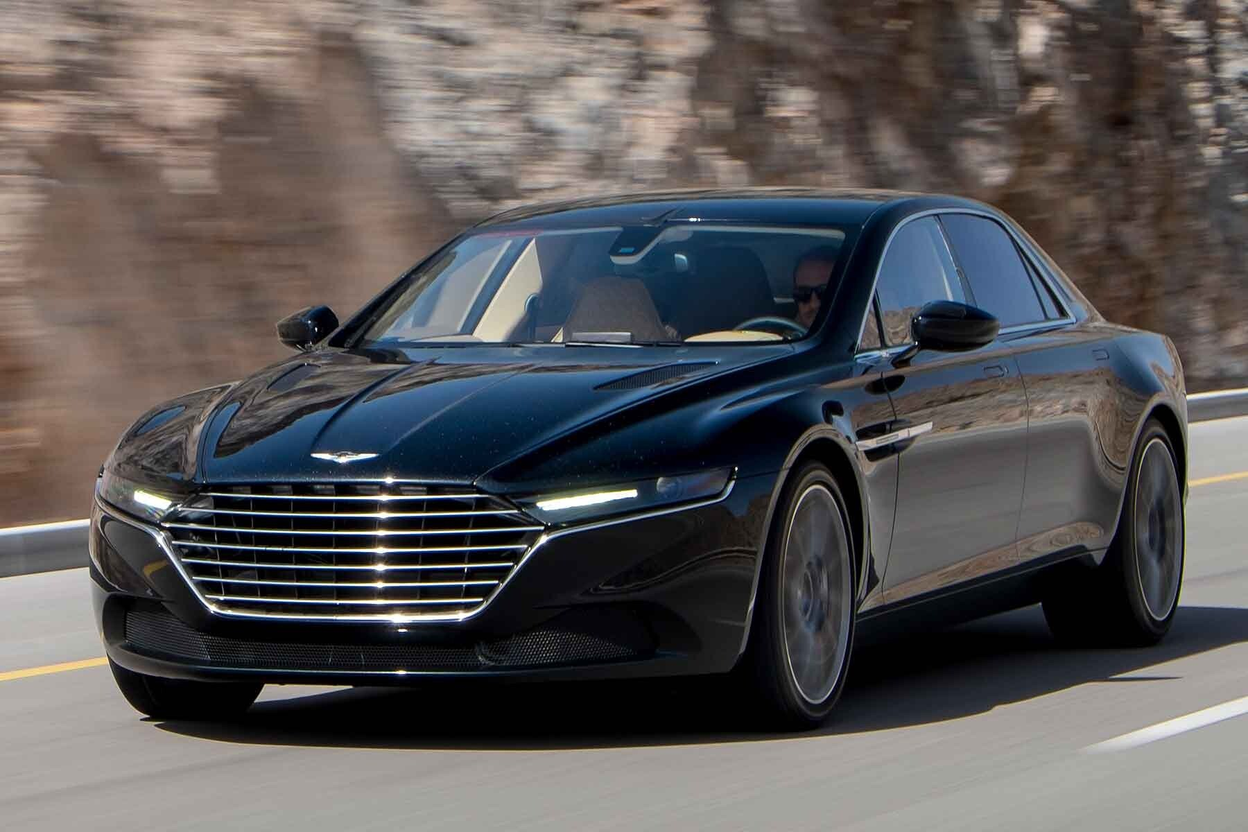 New Latest Aston Martin Lagonda 2015 Black Luxury Car HD