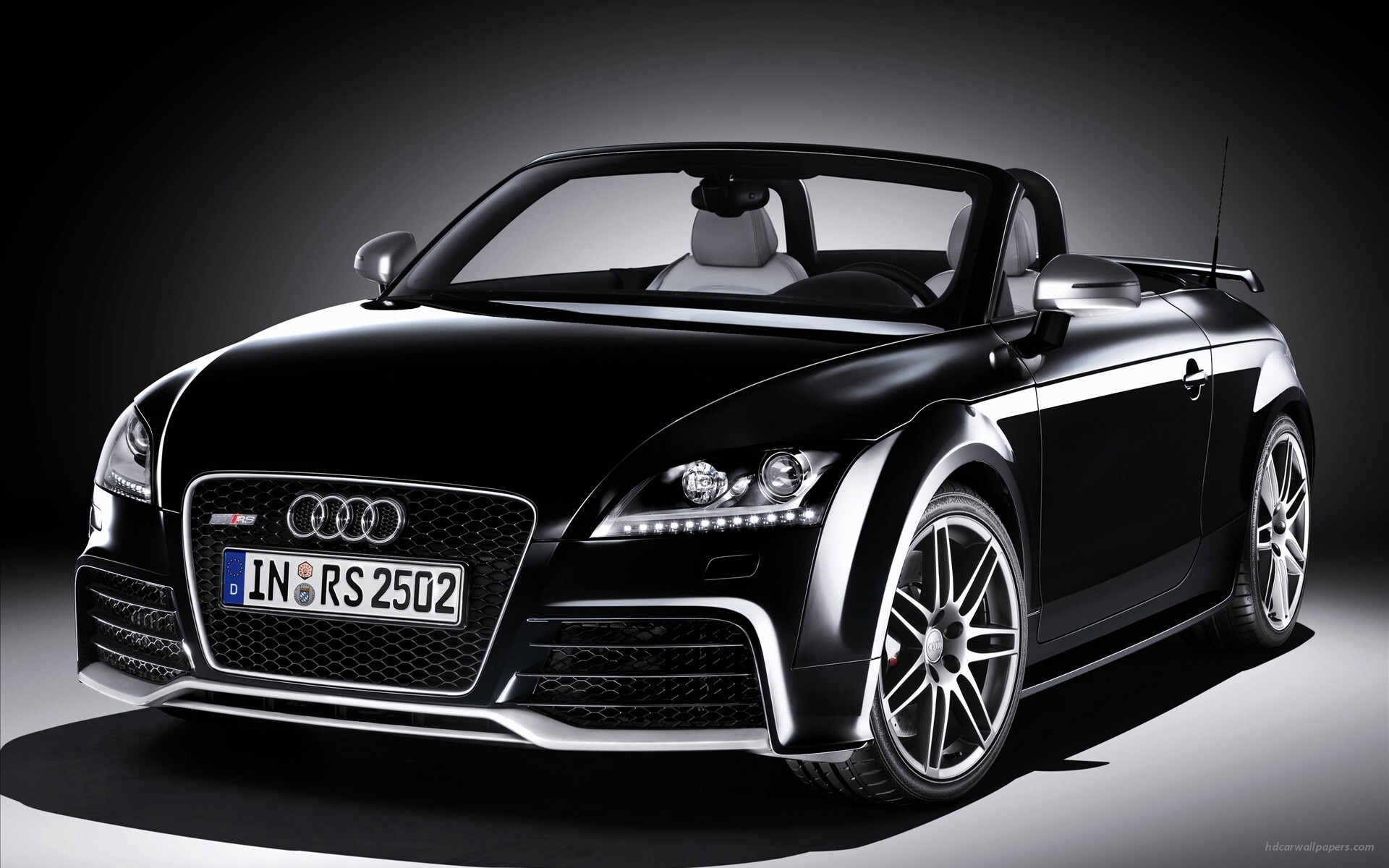 Black Audi Tt Rs Roadster 5 Car Wallpapers Hd Wallpapers