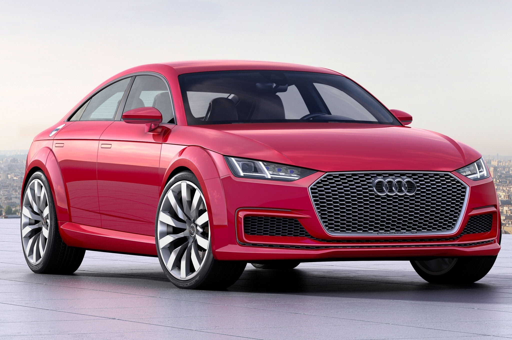 New Red Latest Audi R8 E Tron Prototype Launch Car Wallpapers Hd