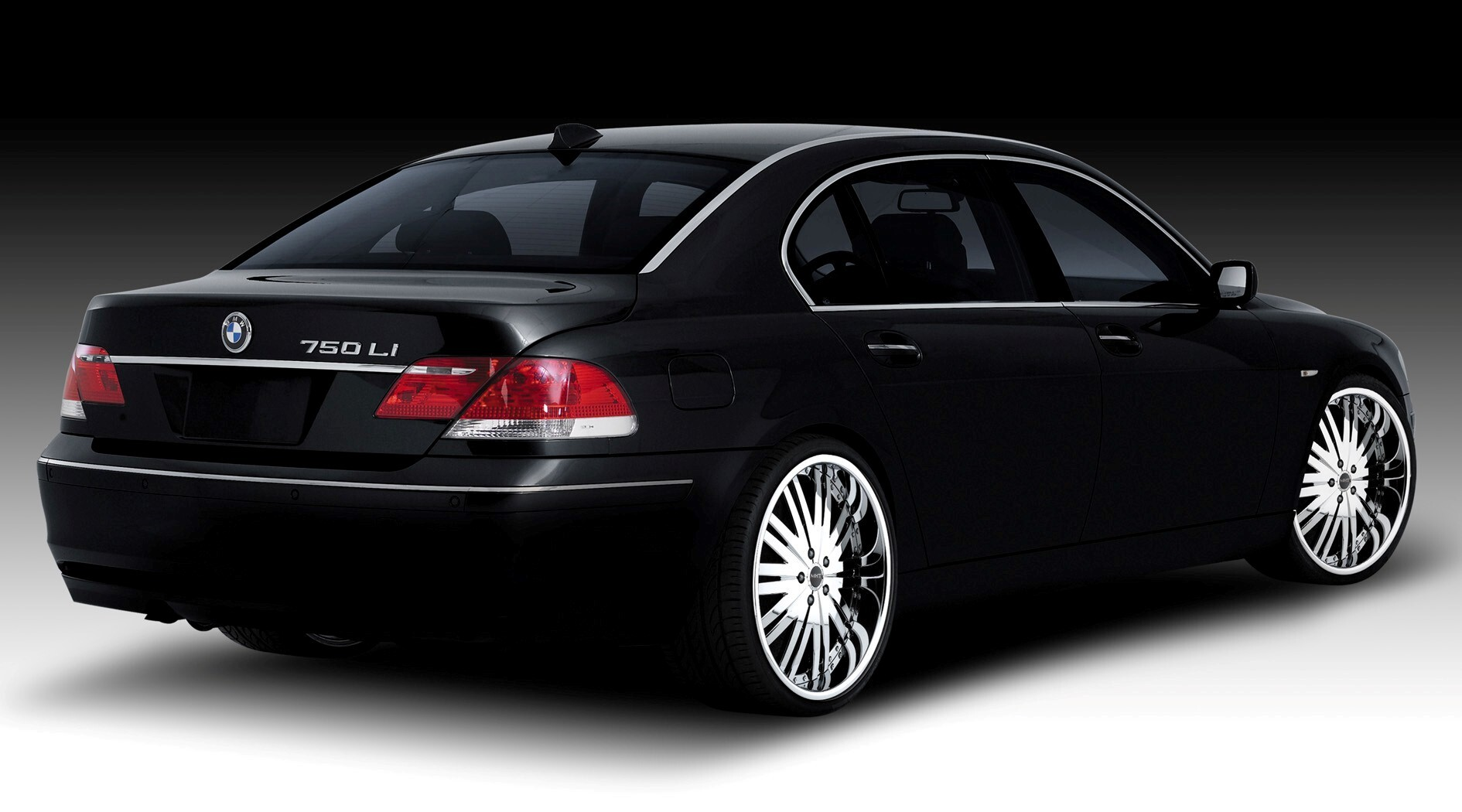 Black Cars Wallpaper 7 Background: Black BMW 7 Series Car Wallpapers