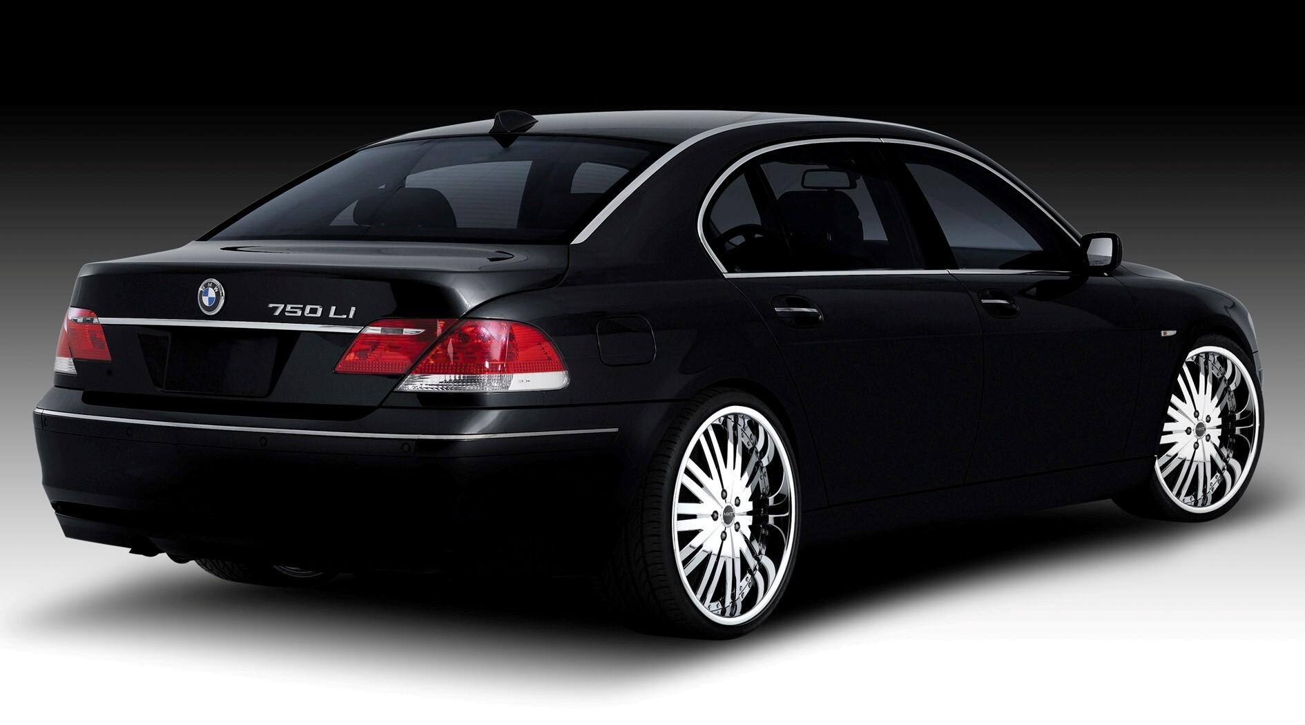 Black BMW 7 Series Car Wallpapers | HD Wallpapers