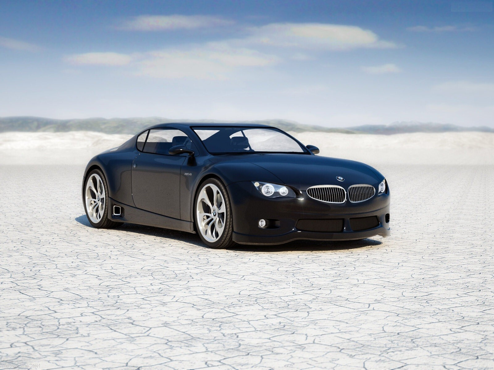black bmw m zero luxury car hd wallpaper | hd wallpapers