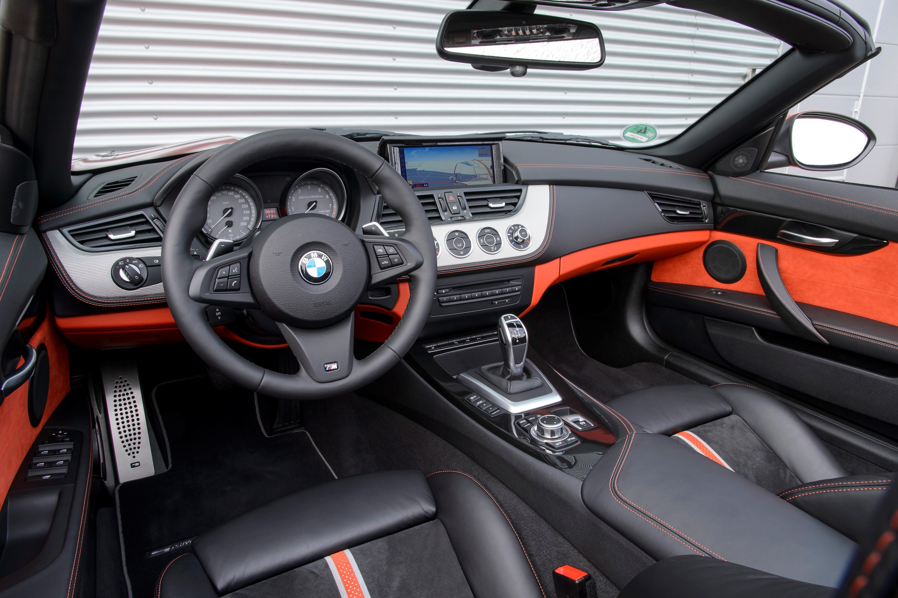 Nice Bmw Z4 Car Interior Photo Hd Wallpapers