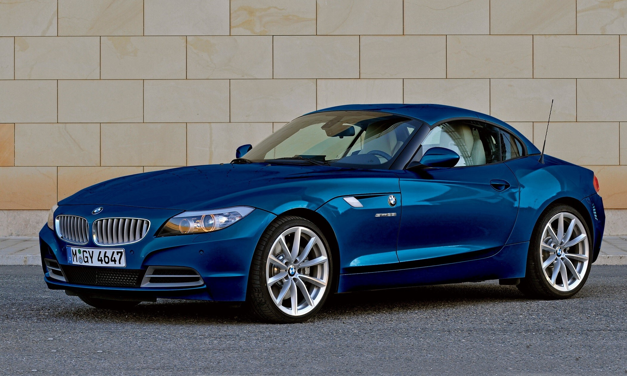 Super Blue Bmw Z4 Two Seater Car Wallpapers Hd Wallpapers