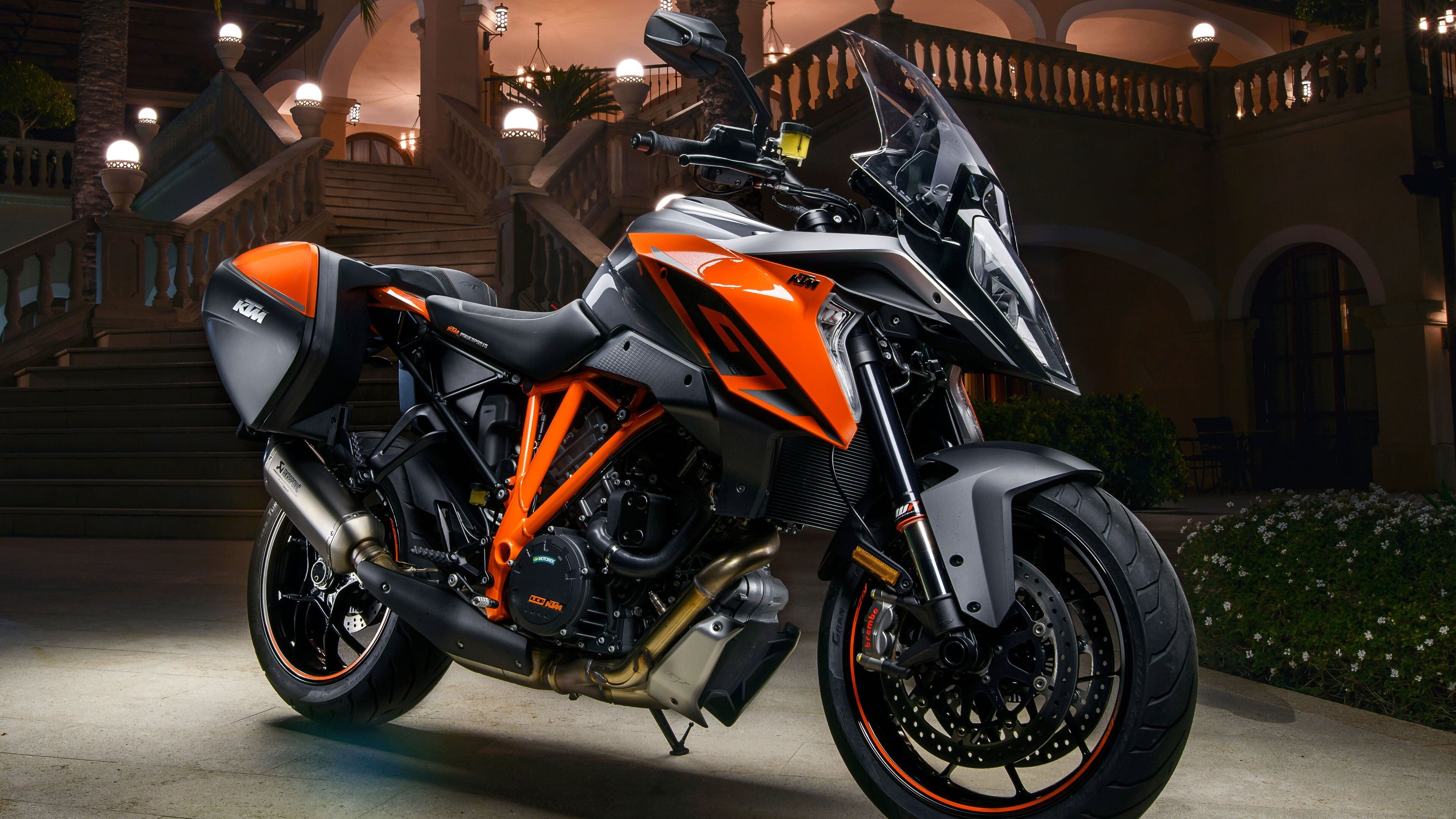 2020 Motorcycle KTM 1290 Super Duke GT 4K Wallpaper