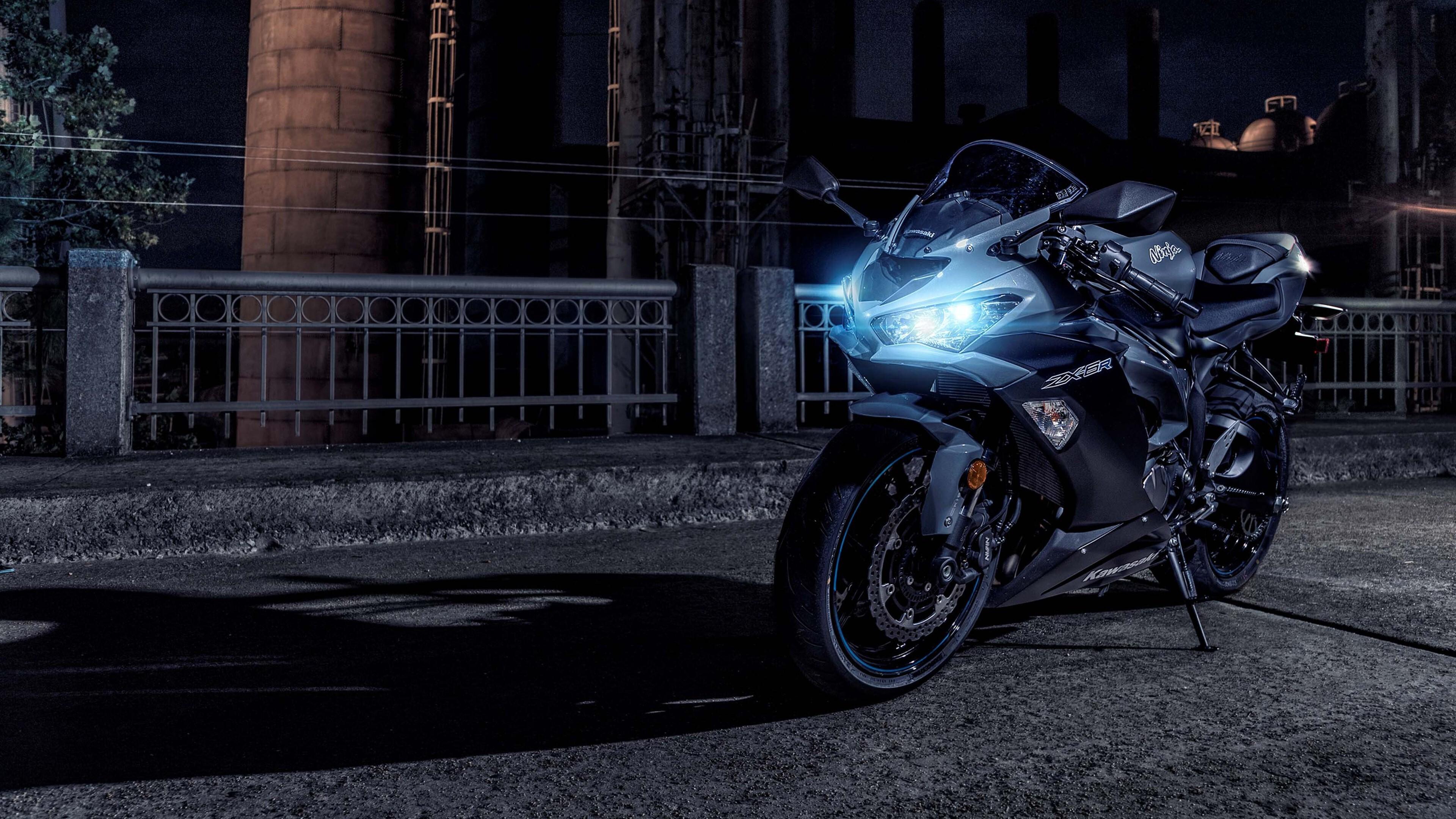 4K Pic Of 2019 Kawasaki Ninja ZX 6R Motorcycle