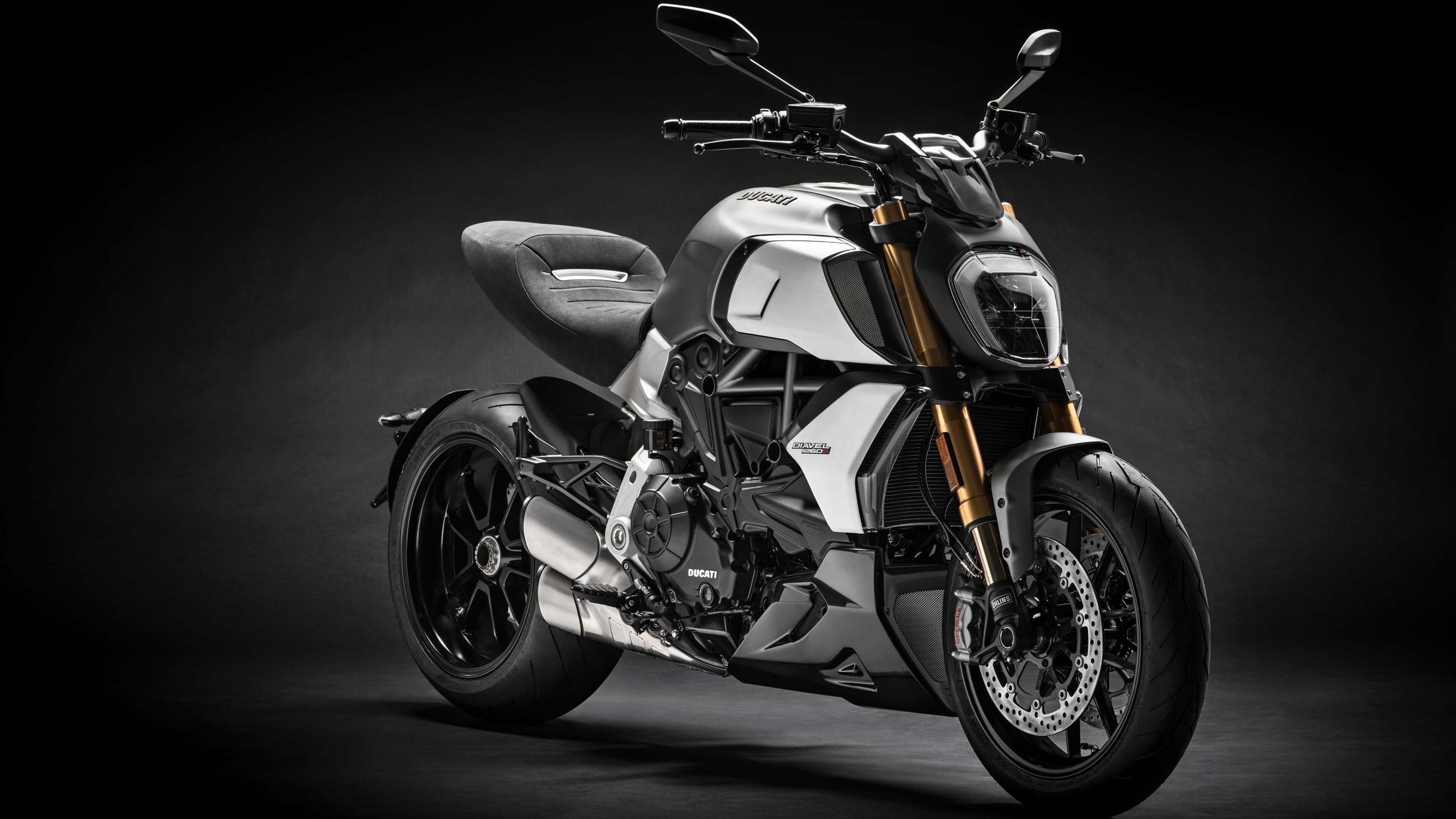 4K Wallpaper Of 2019 Ducati Diavel 1260 S Bike