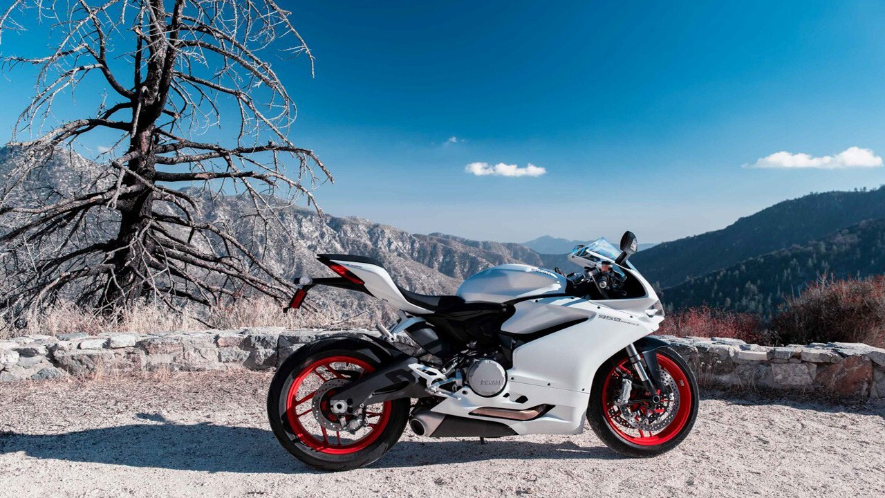 Sport Bikes Wallpapers For Android: Ducati 959 Panigale Sport Bike Wallpaper