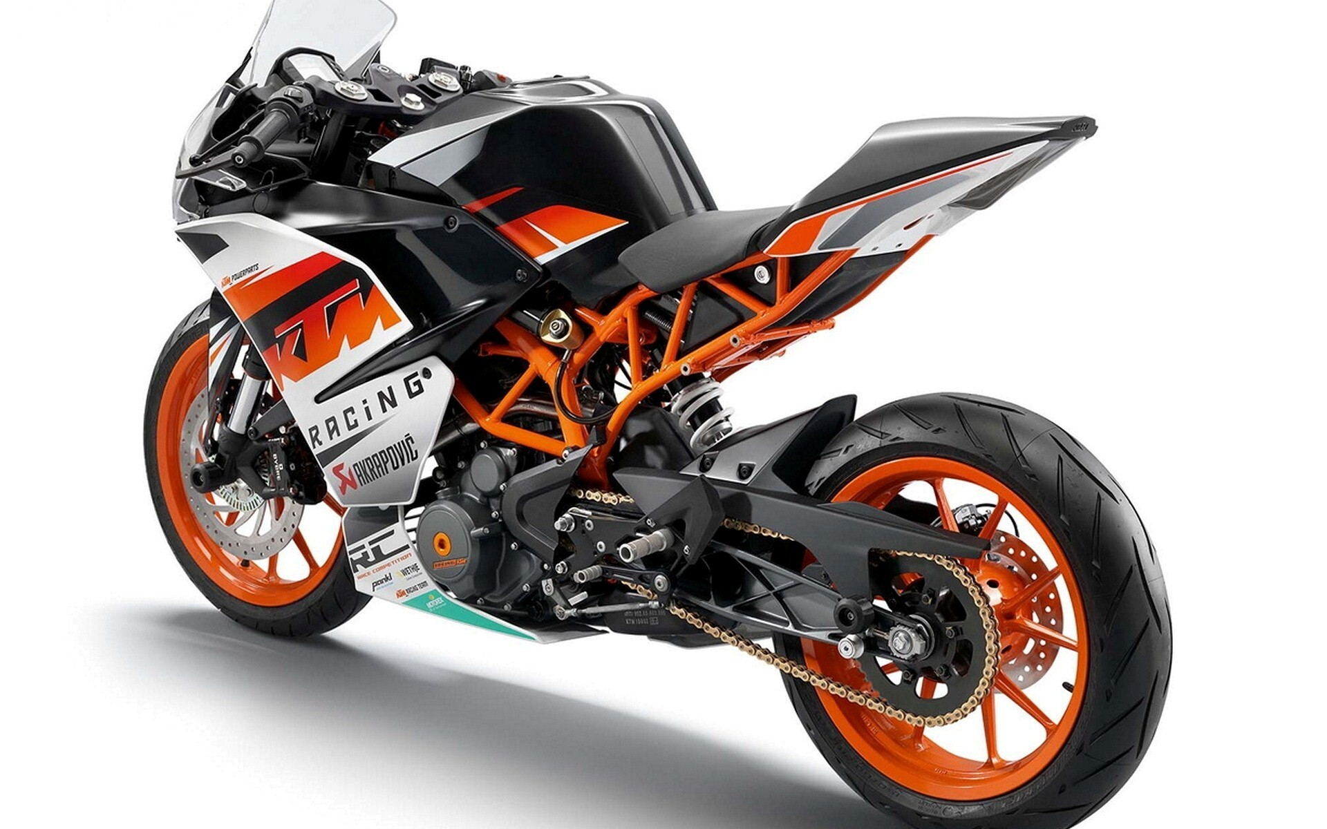 Ktm Rc 200 Sport Bike Hd Wallpaper Hd Wallpapers