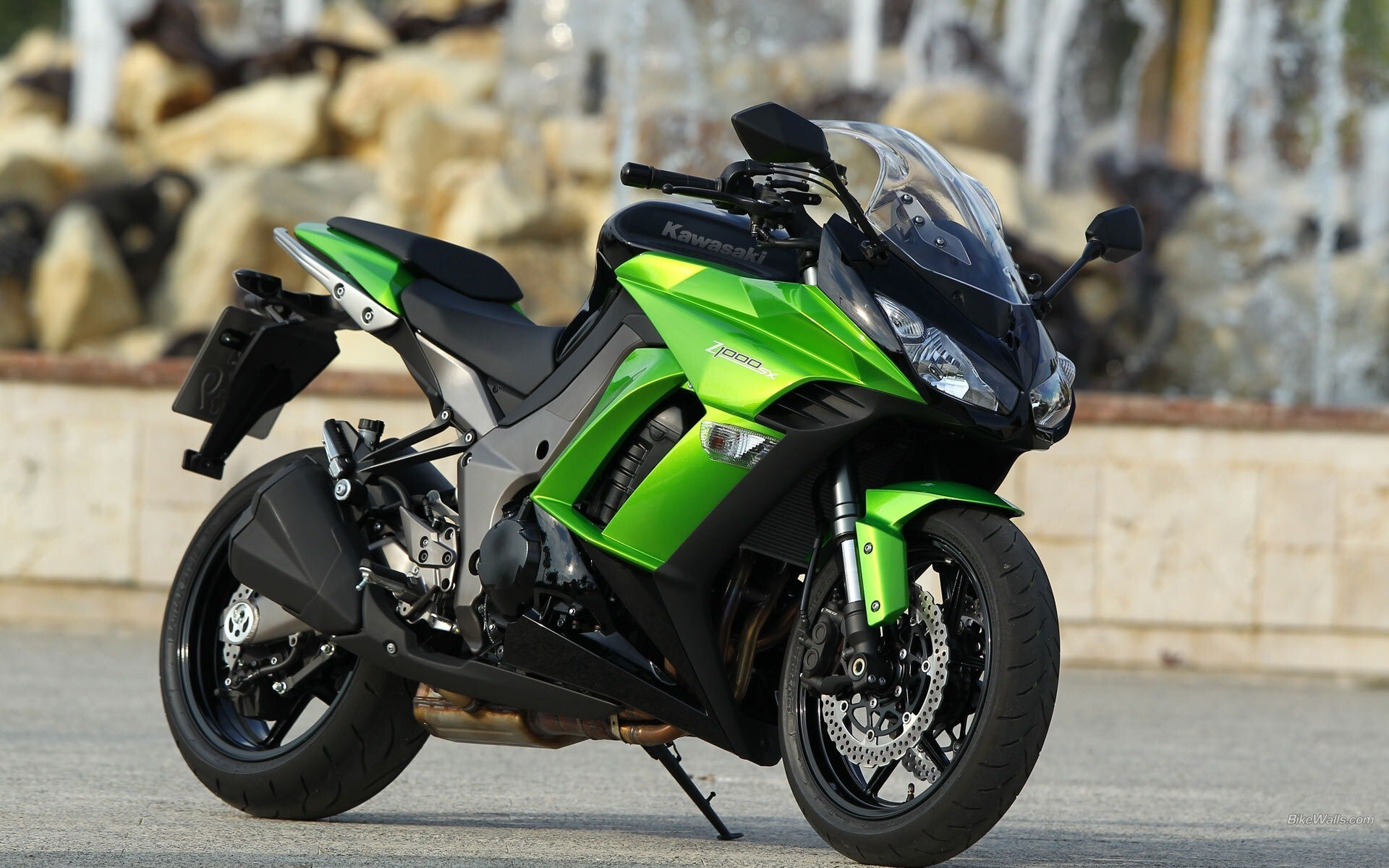 kawasaki z1000sx sport bike wallpaper | hd wallpapers
