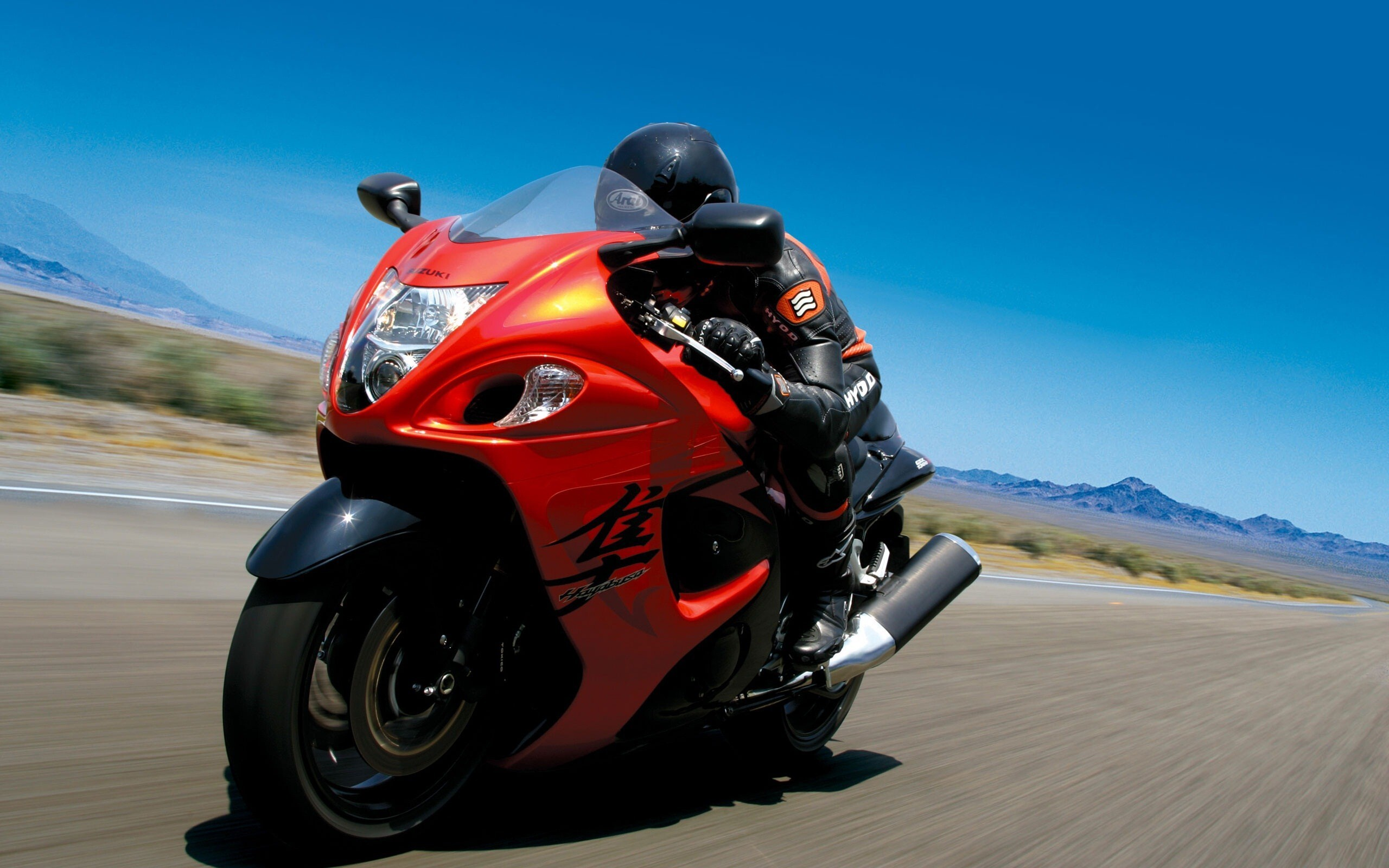 suzuki hayabusa red bike | hd wallpapers