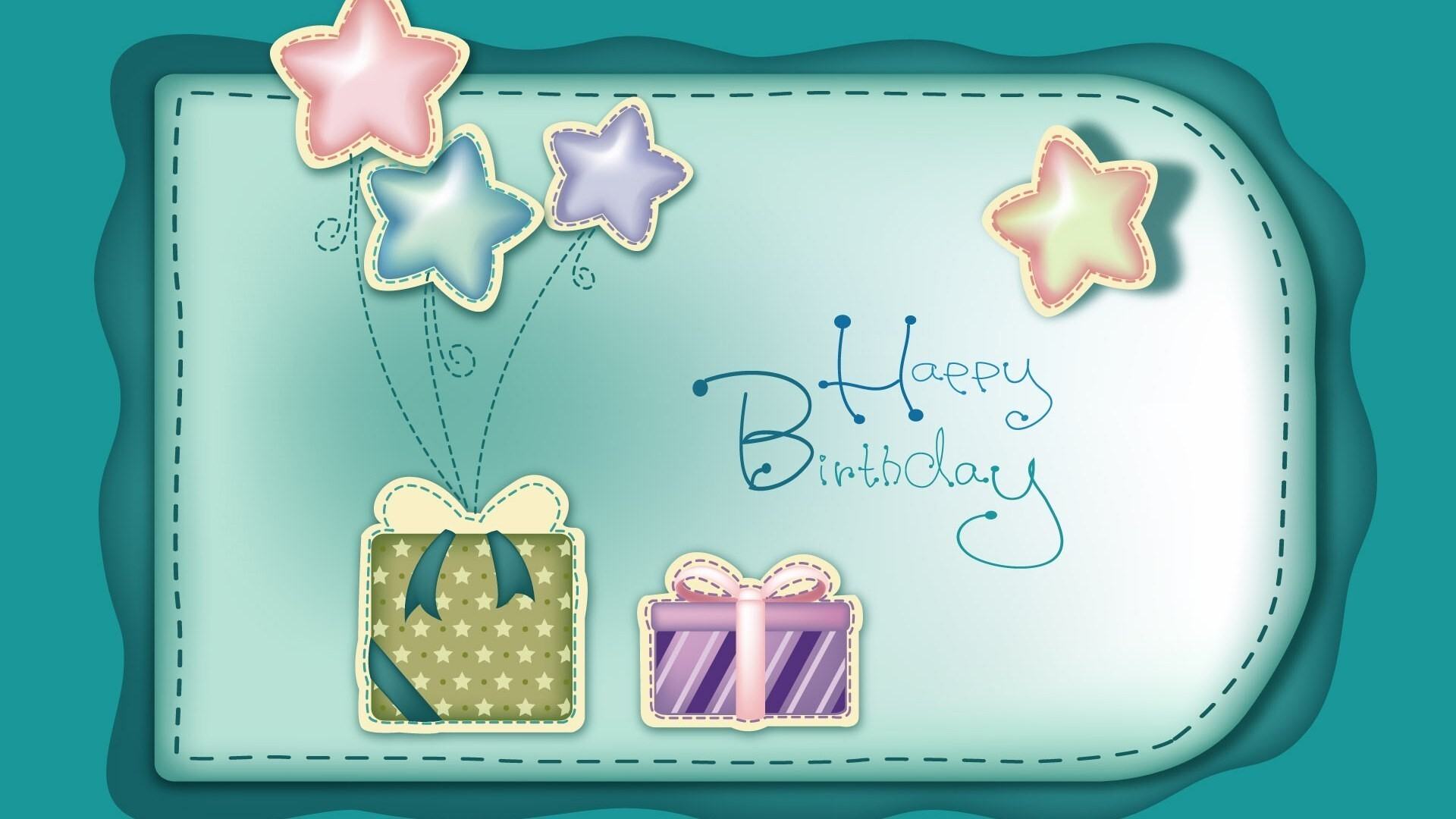 Beautiful Birthday Wallpaper : Beautiful Birthday Card Photos for Desktop Laptop  HD Wallpapers