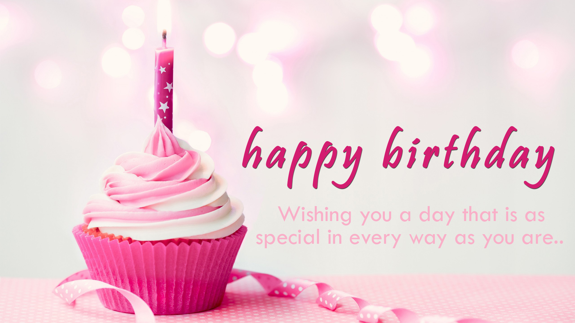 Happy Birthday Wishes Greeting HD Wallpapers Background