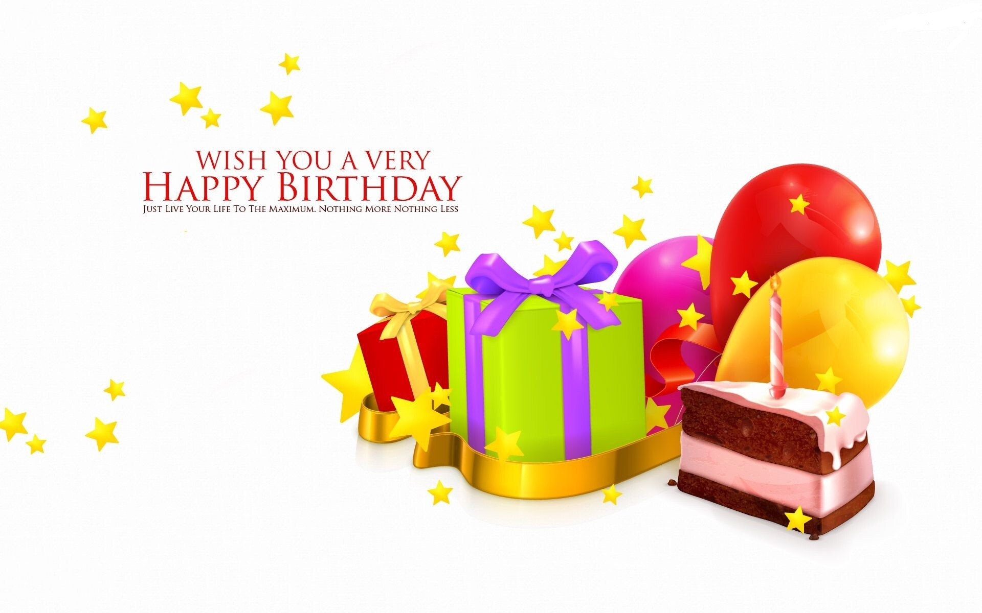 wish you happy birthday greeting quote hd wallpaper | hd wallpapers