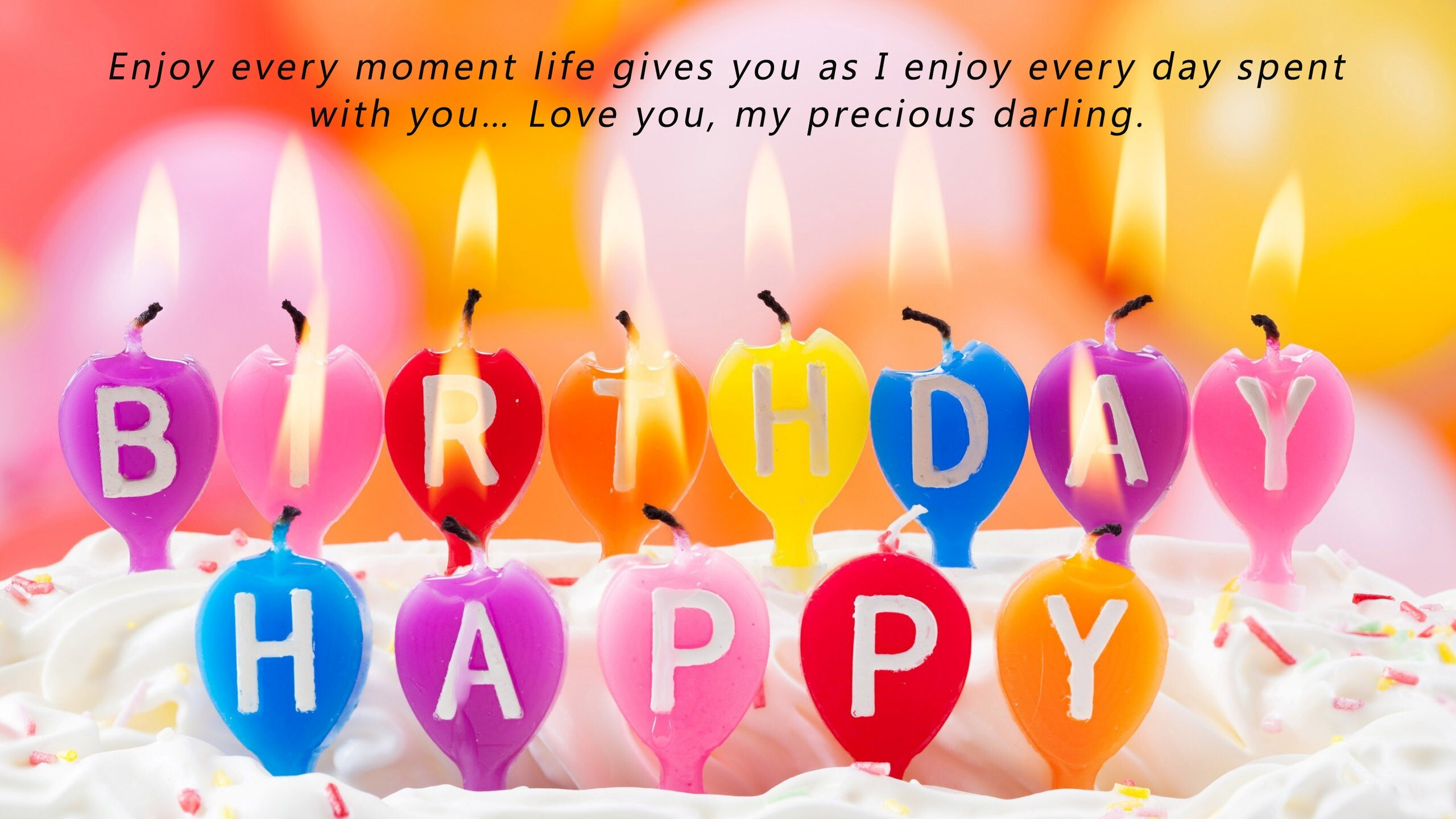 My Love Birthday Wallpaper : Wish You Happy Birthday My Love Darling Wife HD Wallpapers