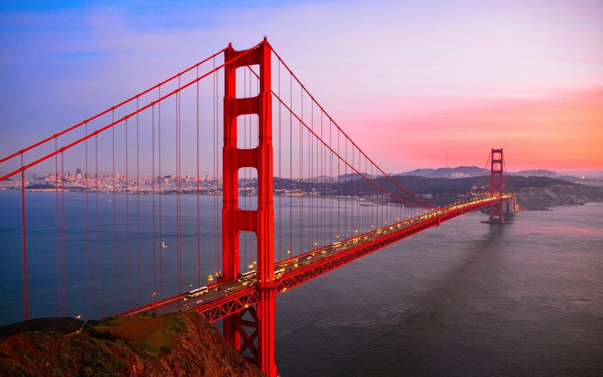 Amazing Golden Gate Bridge San Francisco California US HD