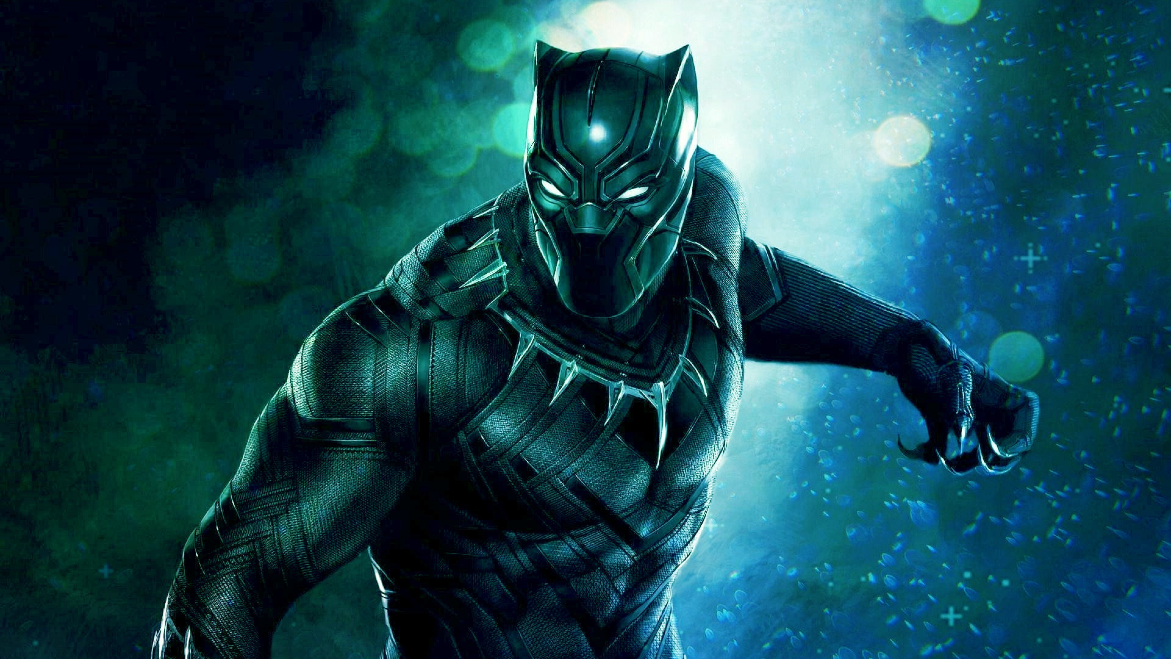 4k Image Of Black Panther Superhero Hd Wallpapers