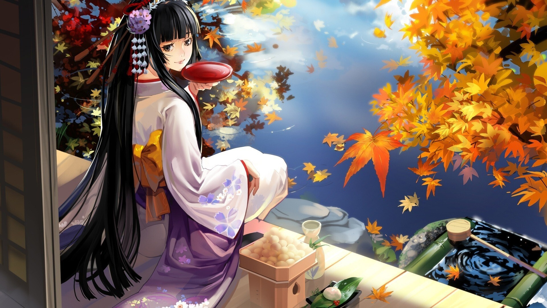 Cute Anime Girl Hd Wallpapers