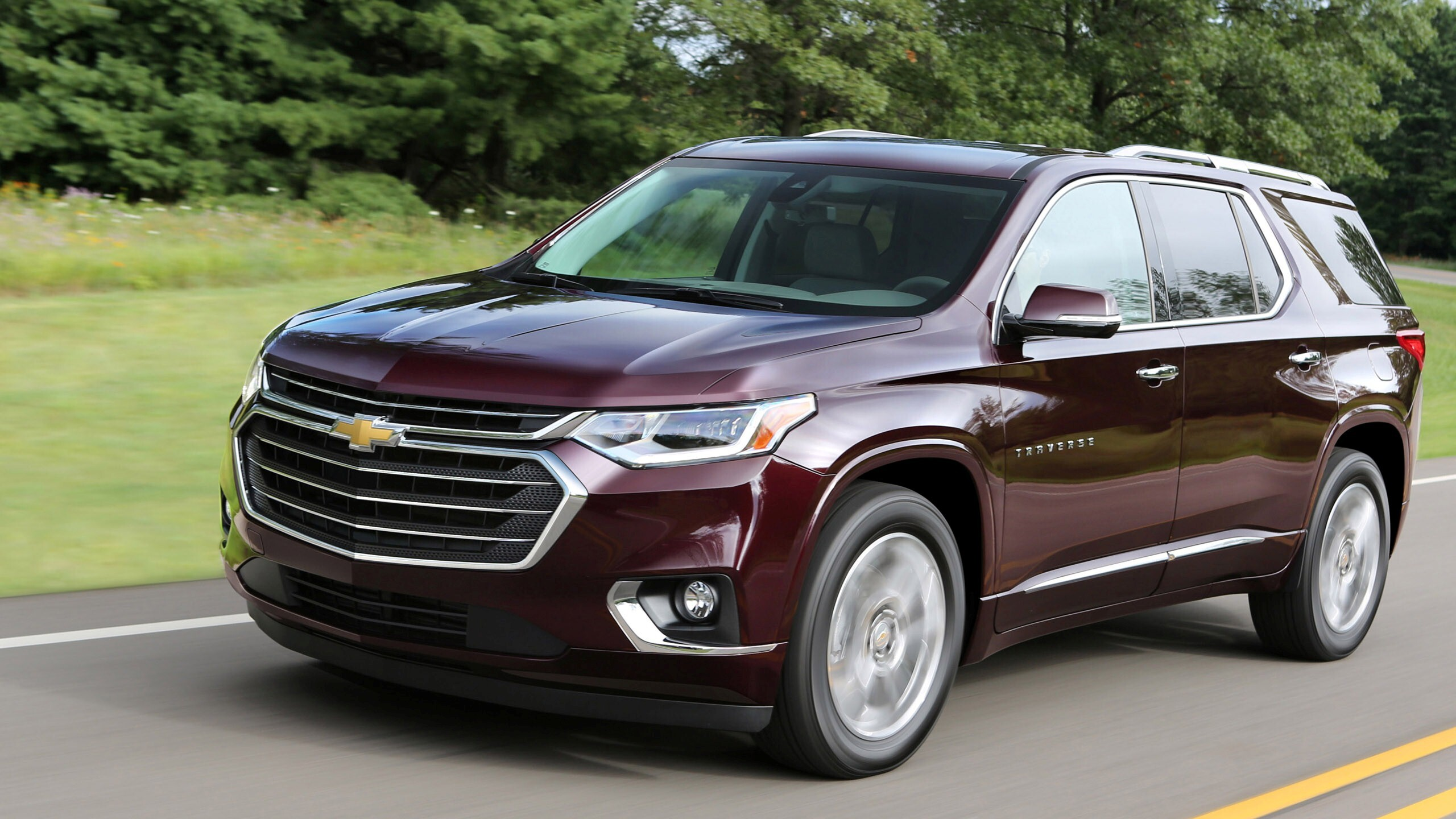 new 2018 chevrolet traverse suv car hd wallpapers. Black Bedroom Furniture Sets. Home Design Ideas