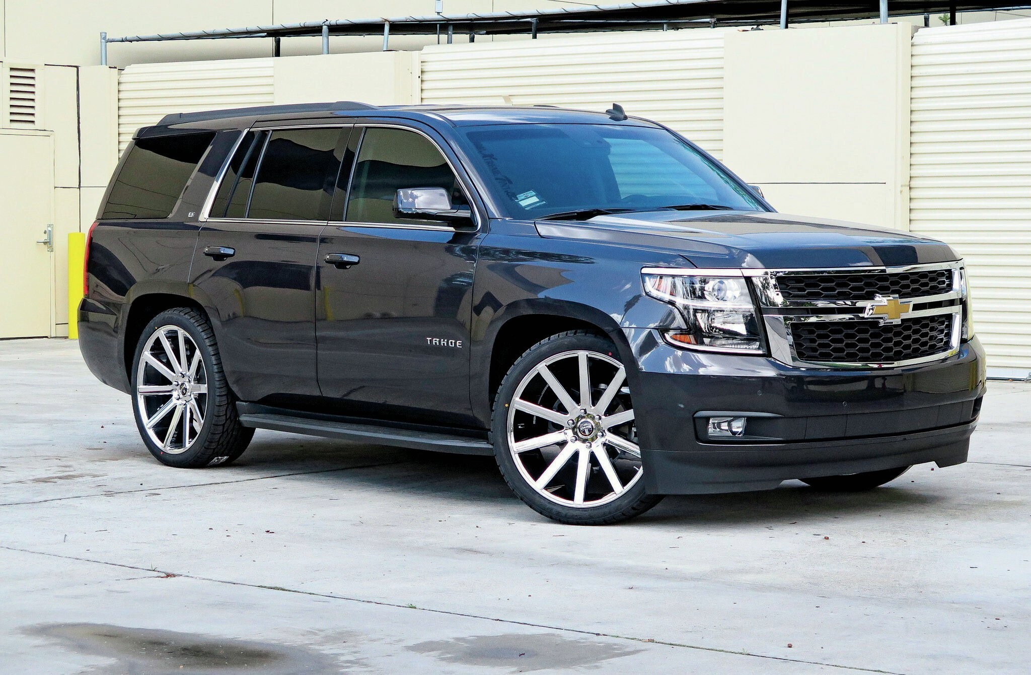Upcoming New 2015 Chevrolet Tahoe Crown HD Car Wallpaper