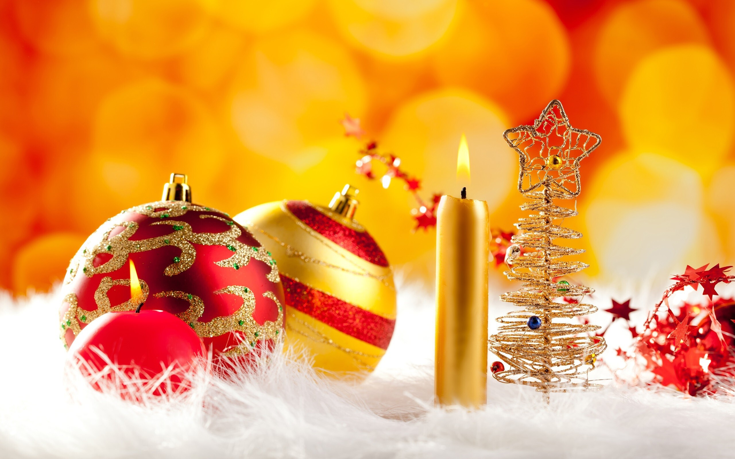Beautiful Christmas Decoration Wallpaper | HD Wallpapers