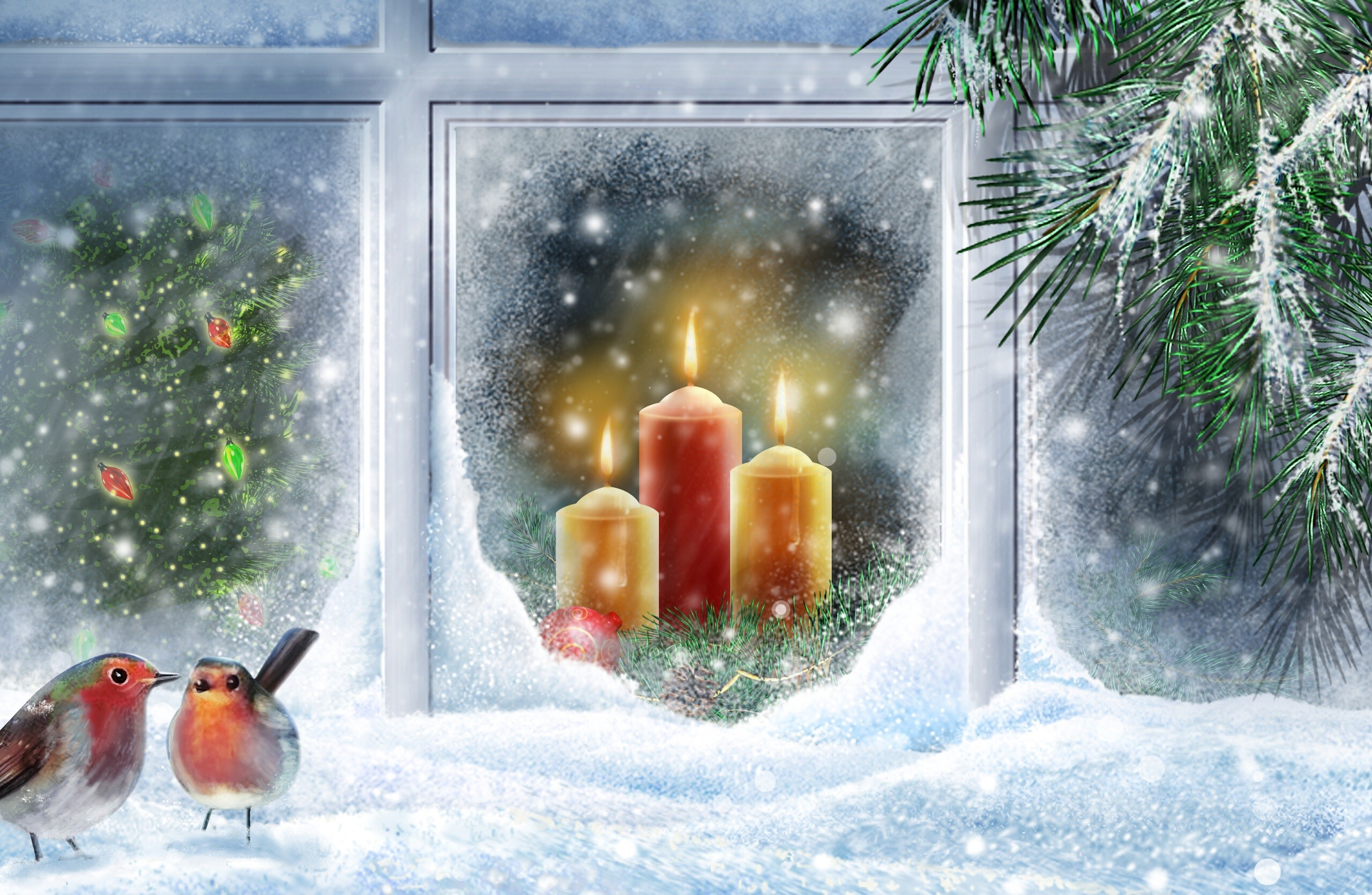 Beautiful Christmas Holidays Wallpapers