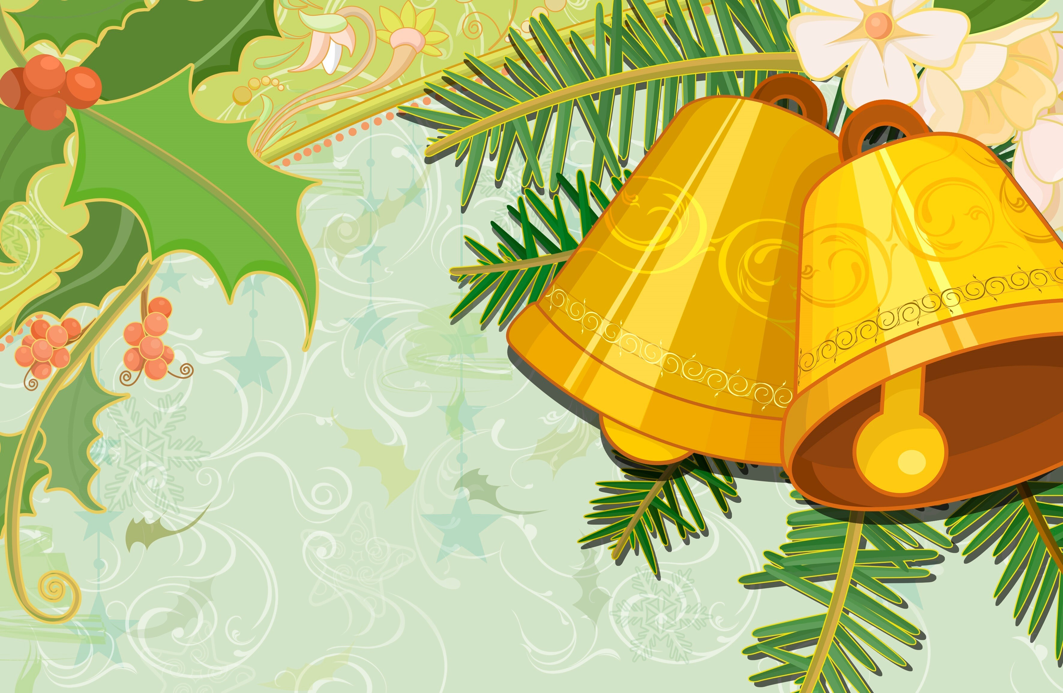 E. E. Bell Wallpapers Christmas Bells Wallpaper HD Wallpapers