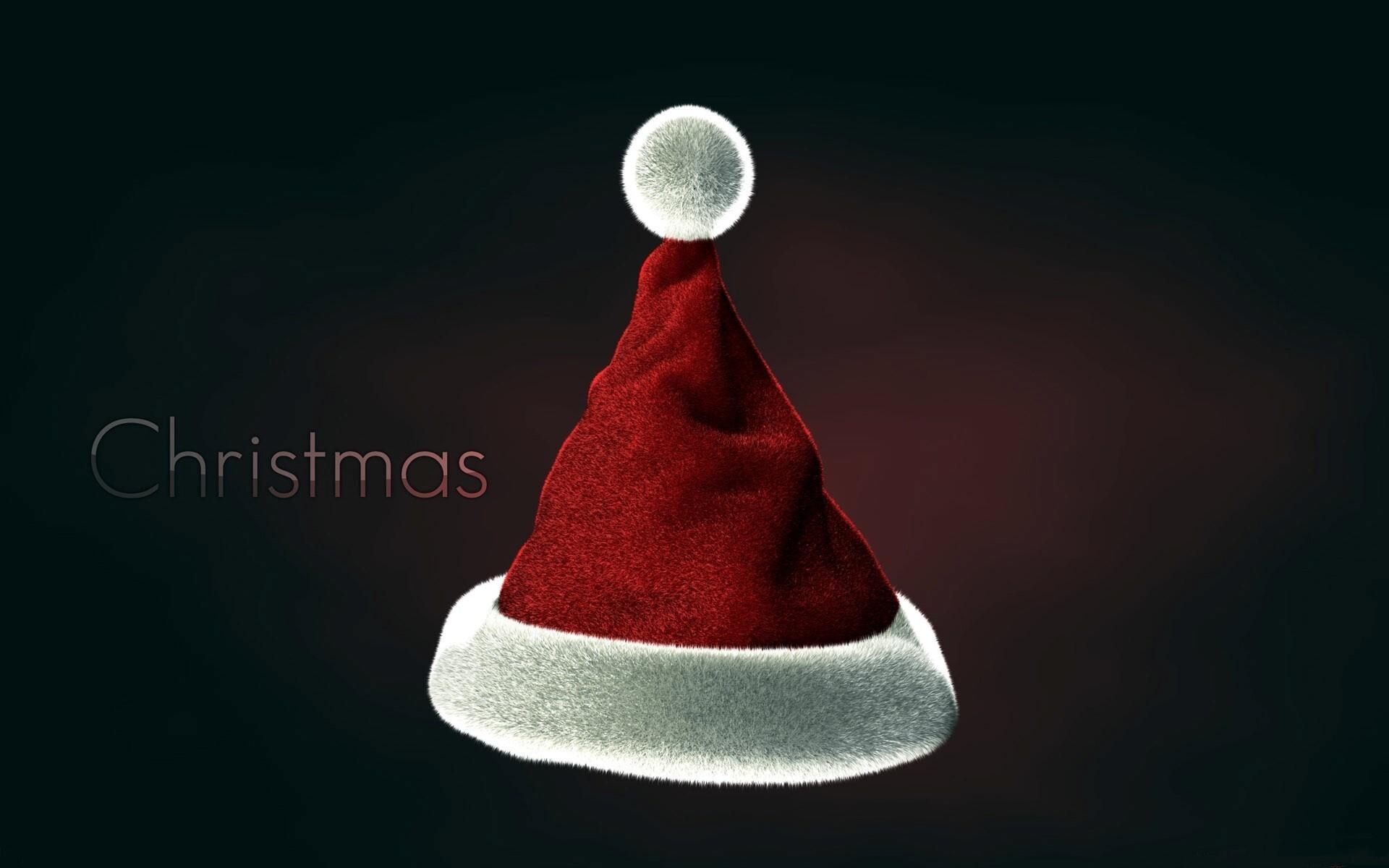 Nice Beautiful Christmas Cap Image On Holiday