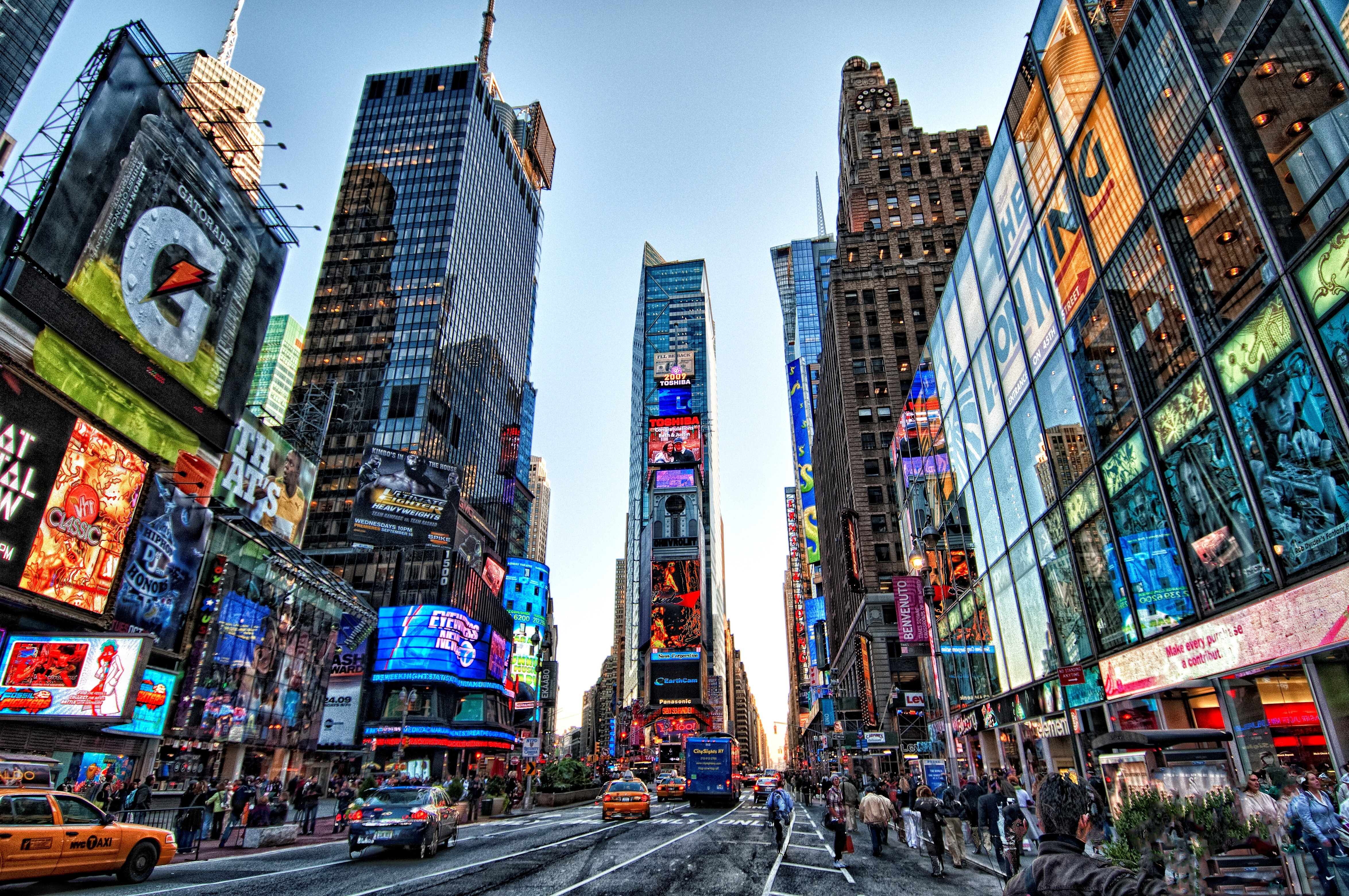 Amazing Wallpaper Of Times Square In New York City Hd Wallpapers