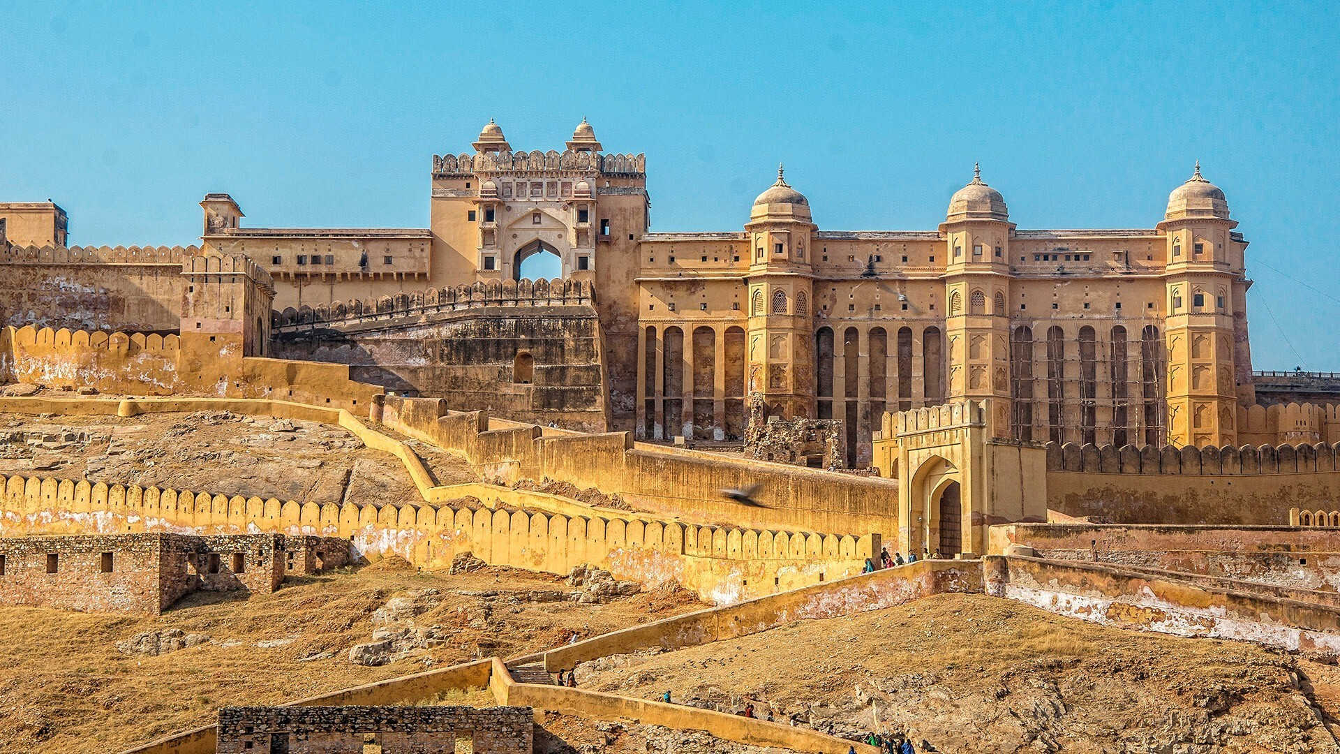 Amer Fort Tourist Place In India Hd Photo Hd Wallpapers