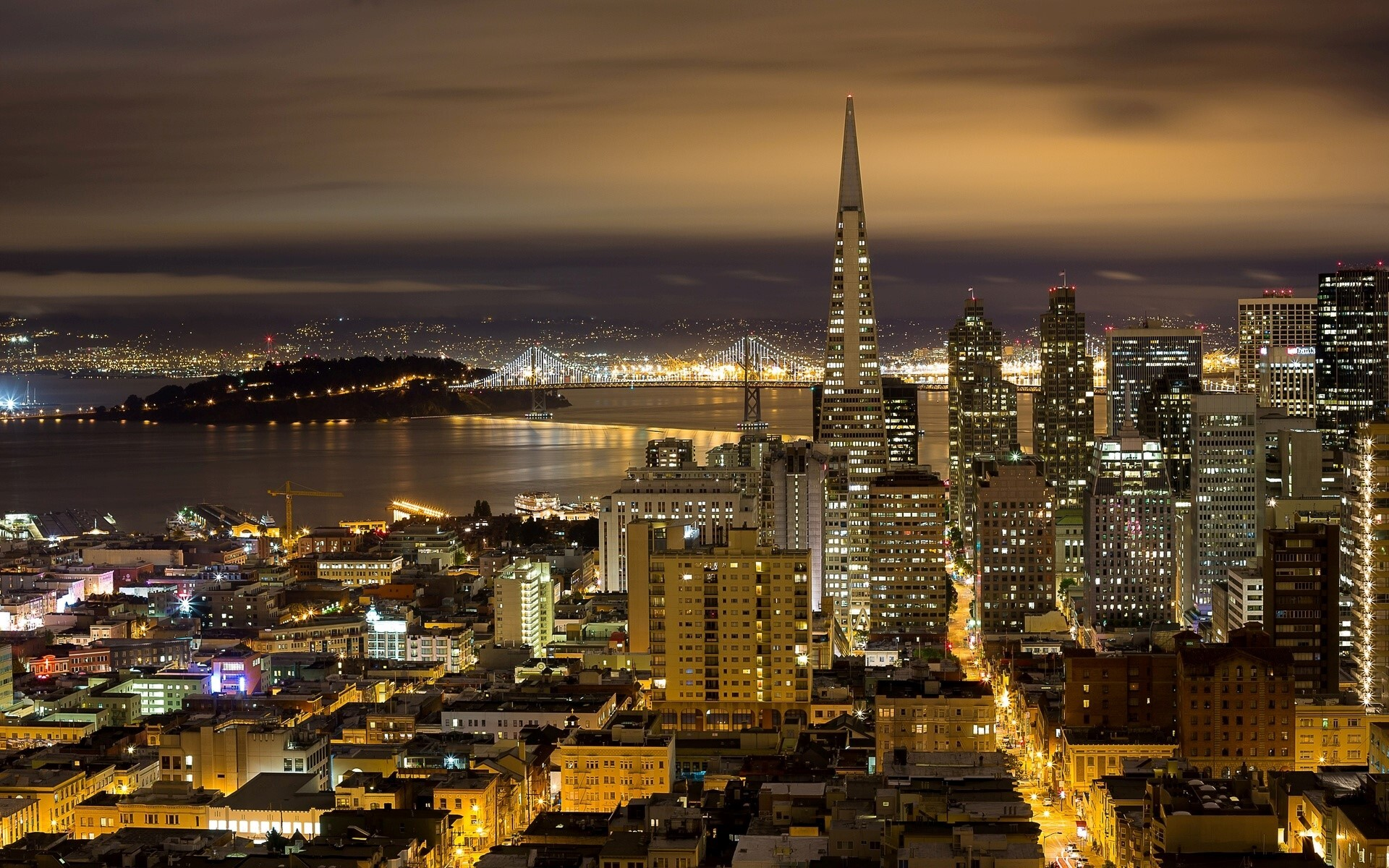 Beautiful California State of US Night View Wallpaper | HD ...