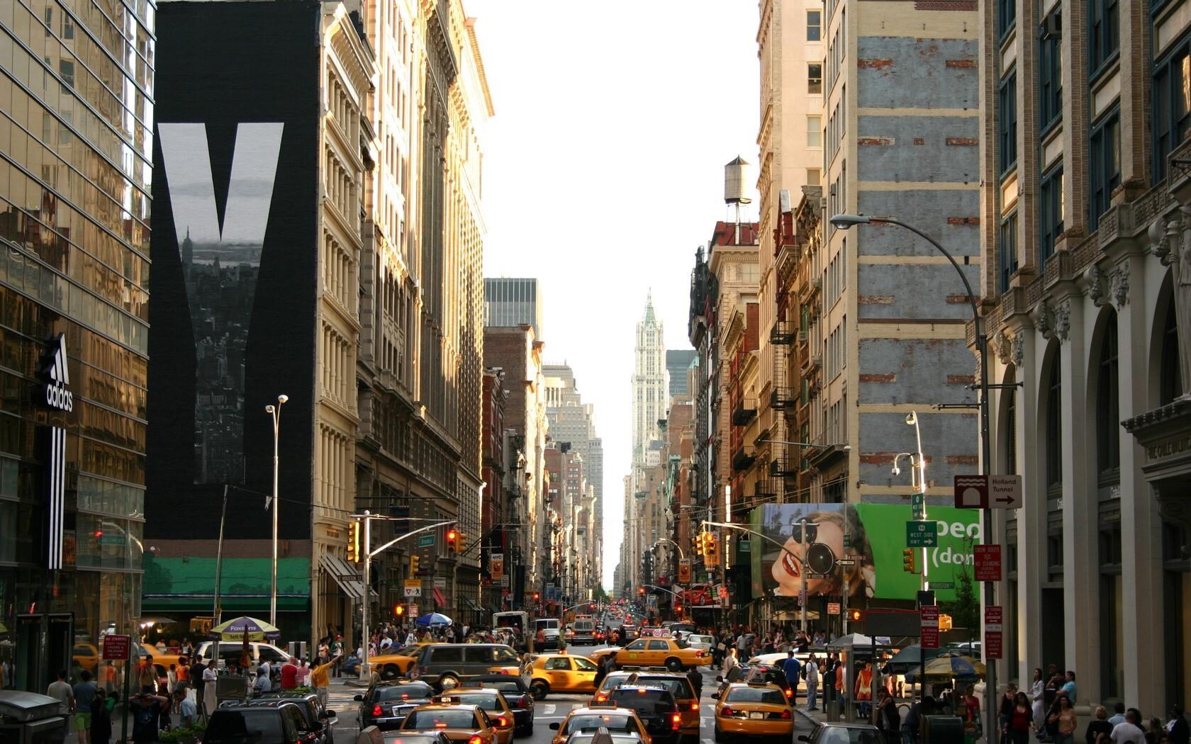 Beautiful New York Popular City In Us Wallpaper Download