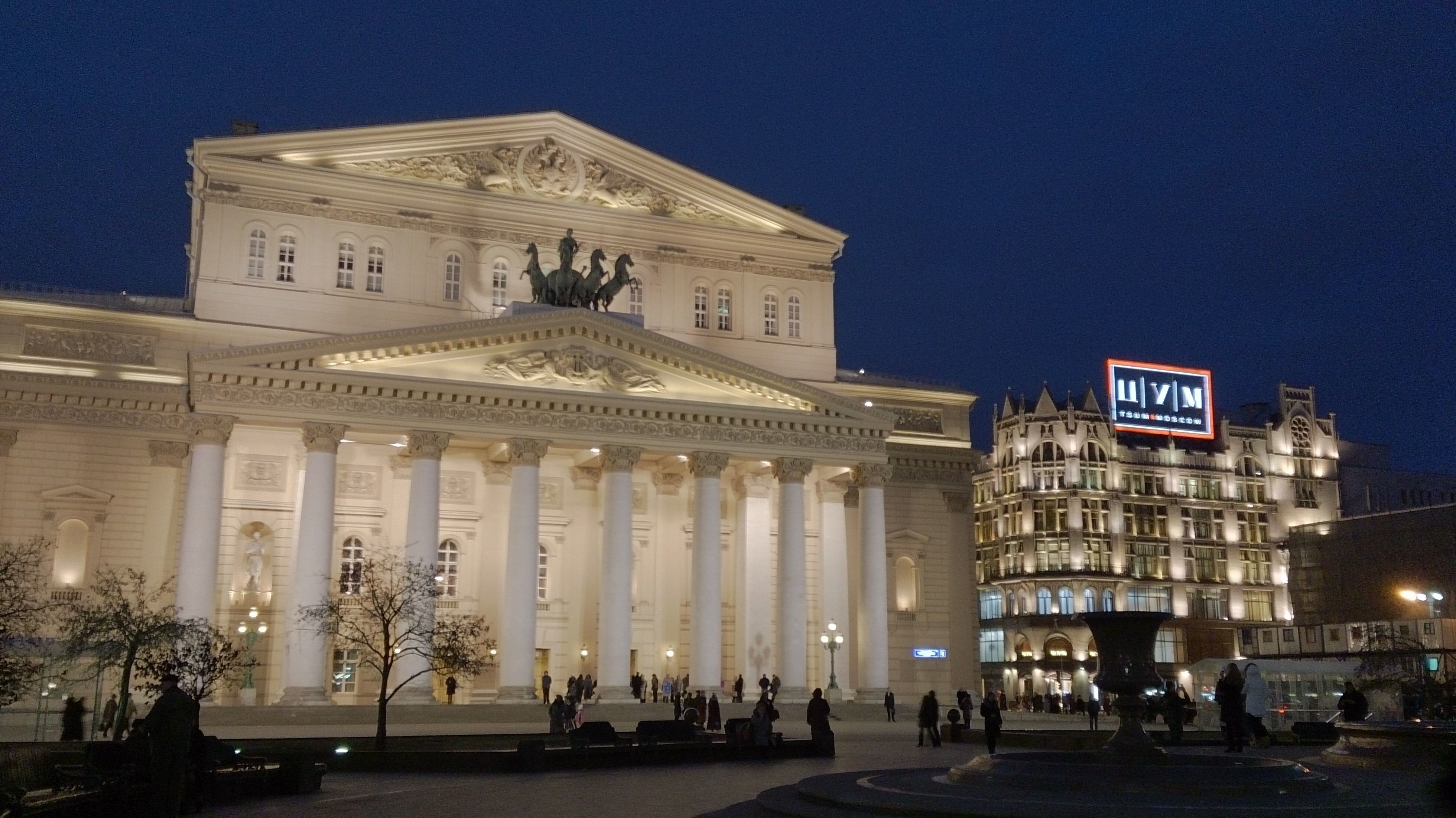 Bolshoi theatre in moscow russia tourist place 4k wallpapers hd wallpapers - 4k wallpaper russia ...