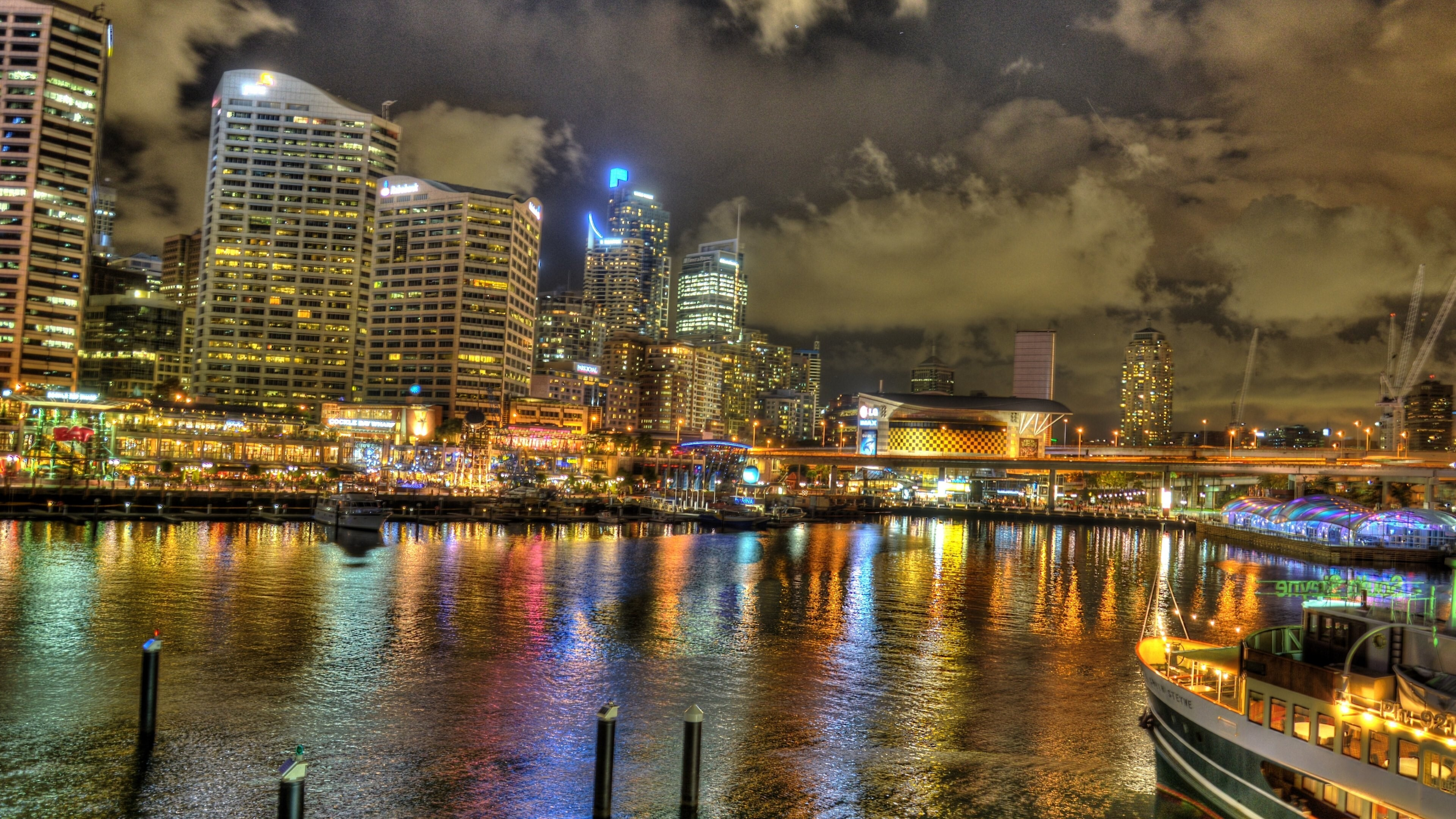 Darling Harbour In Sydney Australia Wallpapers