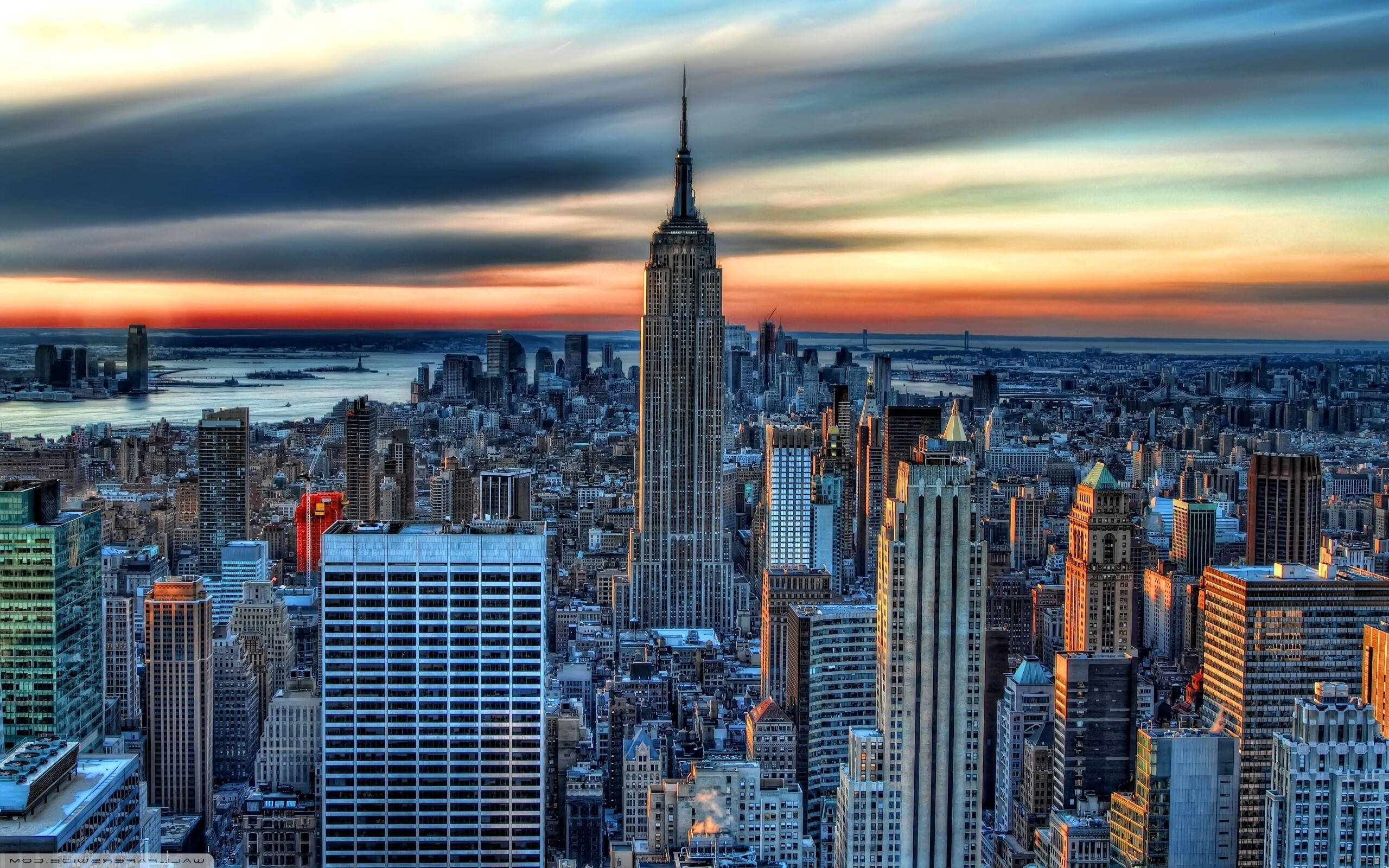 Empire State Building Skyscraper In New York City Usa Hd Wallpaper