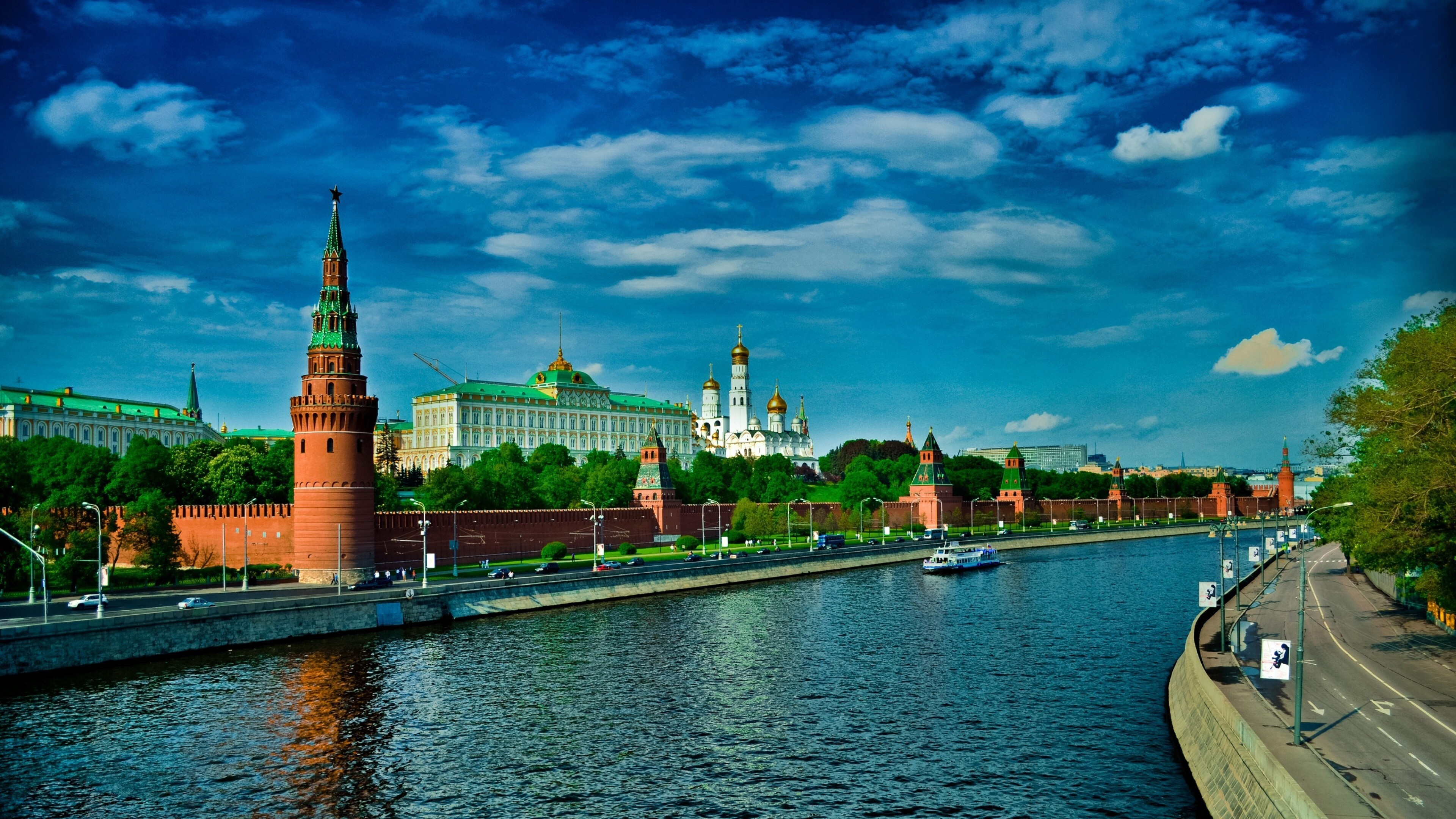 Most Beautiful 4K Wallpaper Of Moscow City Russia