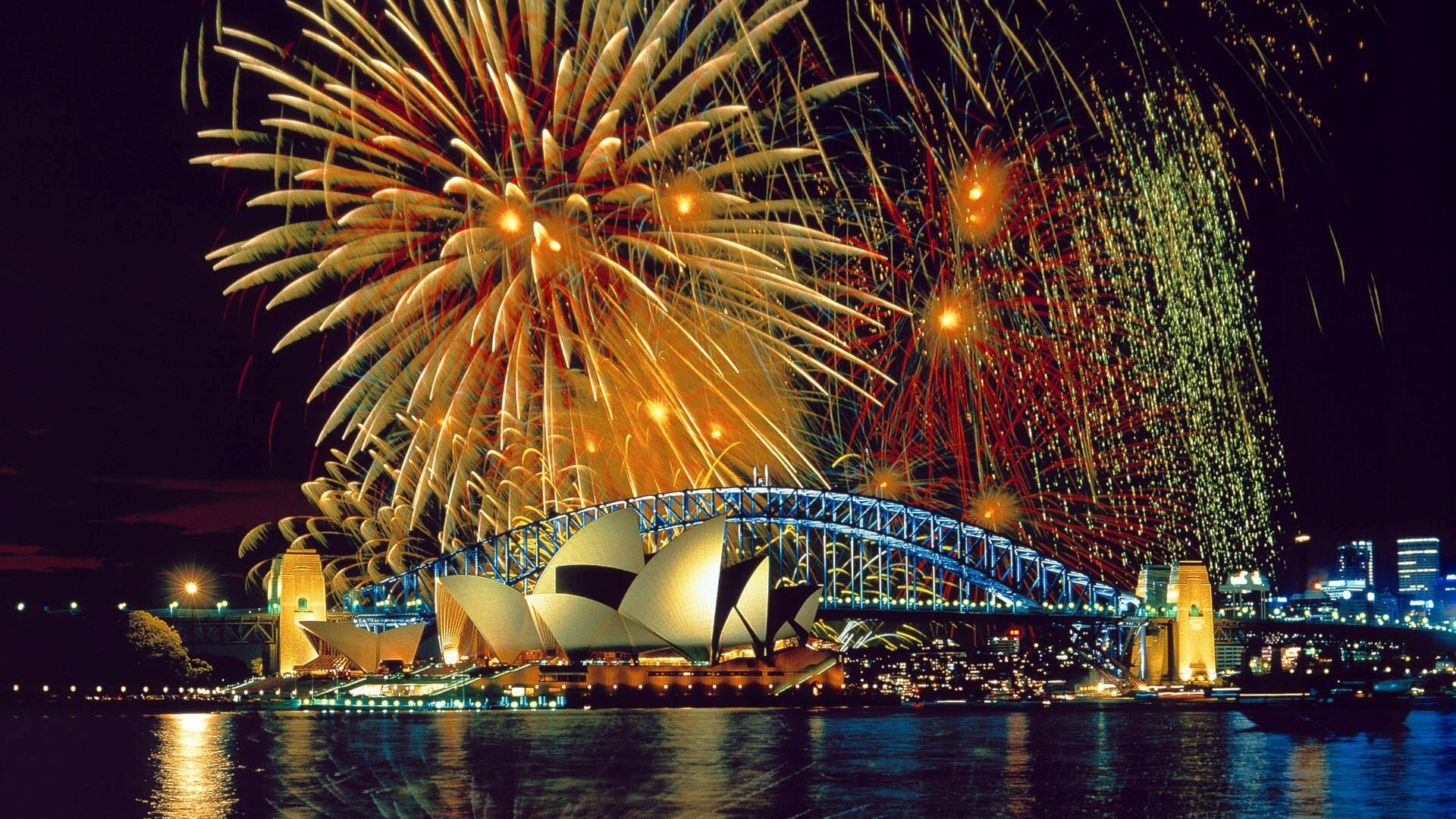 sydney city new year celebrations hd wallpaper hd wallpapers