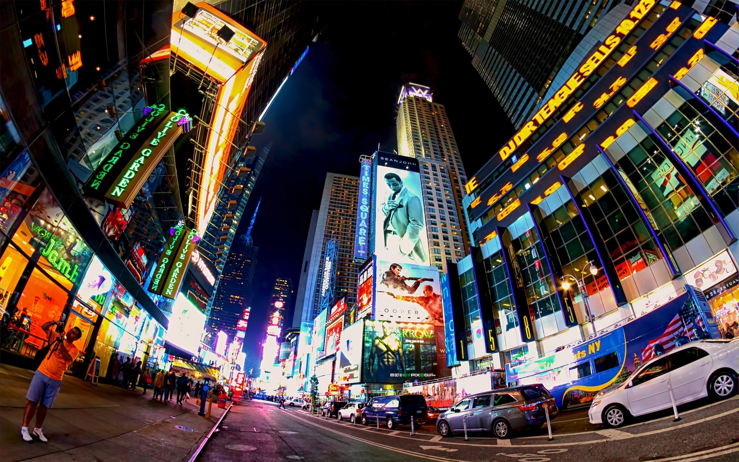 Times square new york city united states hd wallpaper hd wallpapers - Times square background ...
