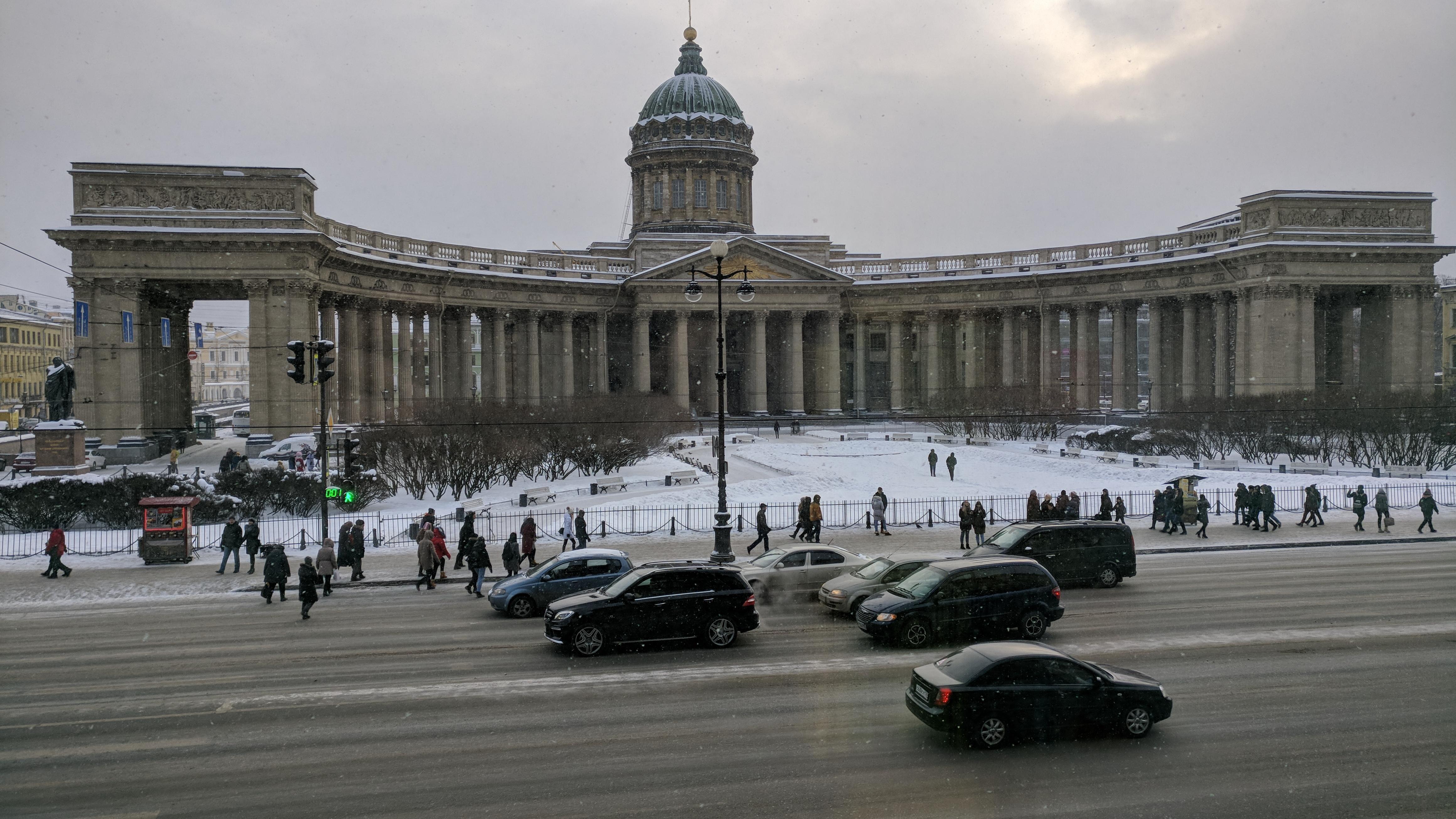 Tourist place kazan cathedral in saint petersburg russia 4k wallpaper hd wallpapers - 4k wallpaper russia ...