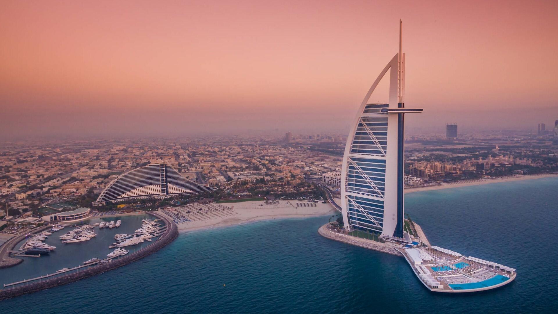 Visiting Place Burj Al Arab In Dubai