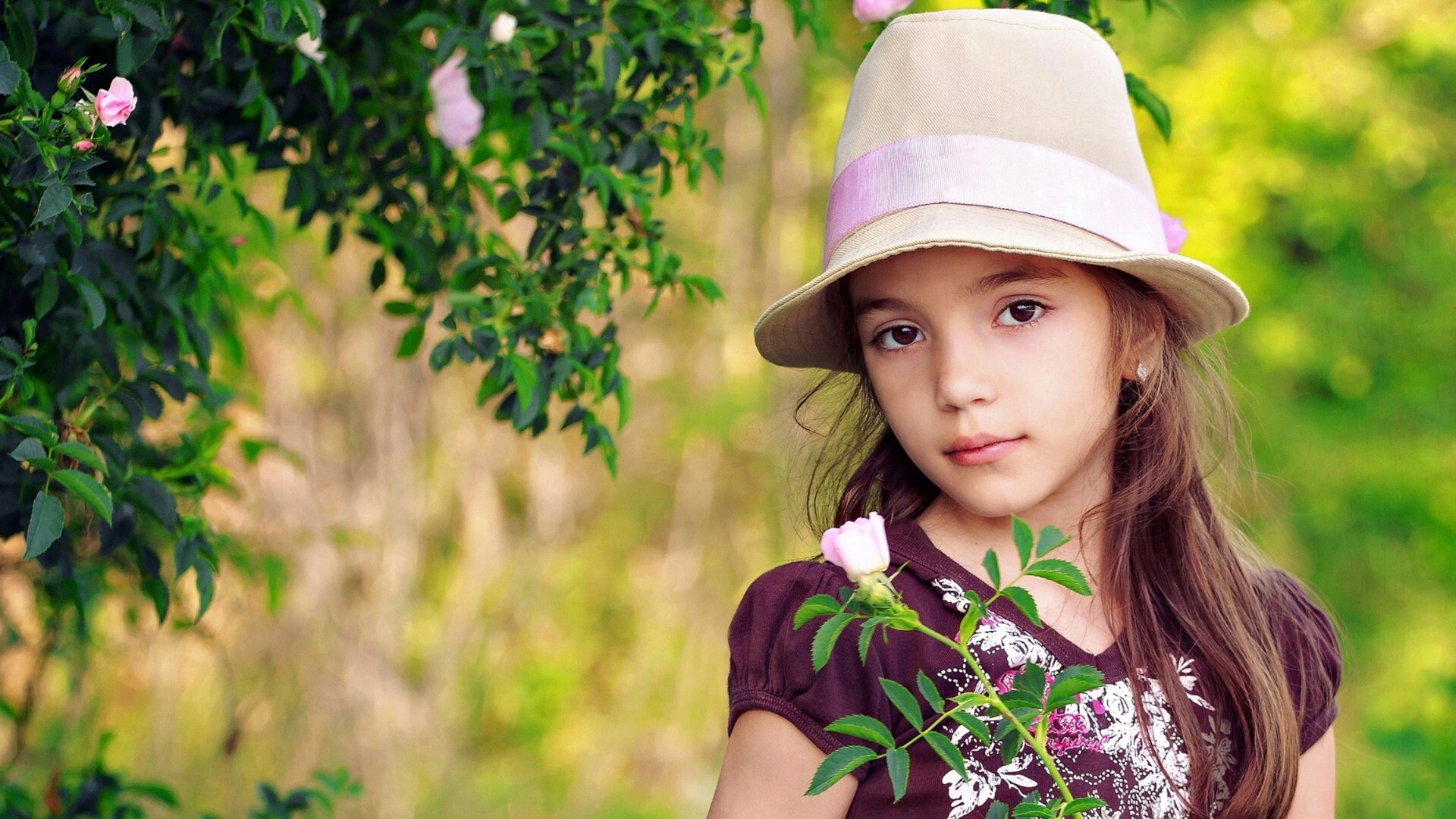 beautiful baby girl in cap | hd wallpapers