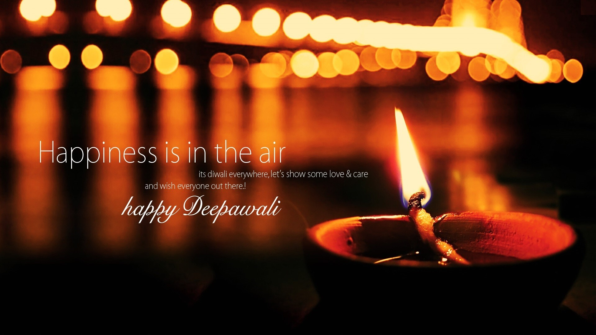 happiness wish on happy deepawali festival wallpaper | hd wallpapers