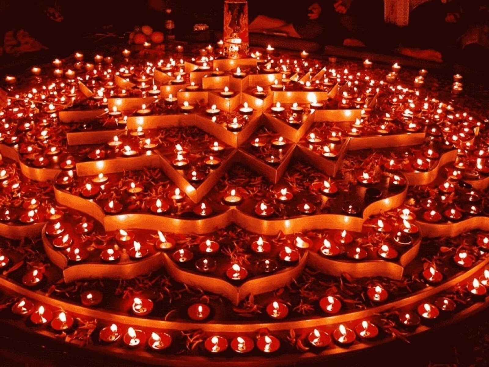 Indian Festival Decoration Indian Festival Diwali Large Collection Of Diya And Decoration