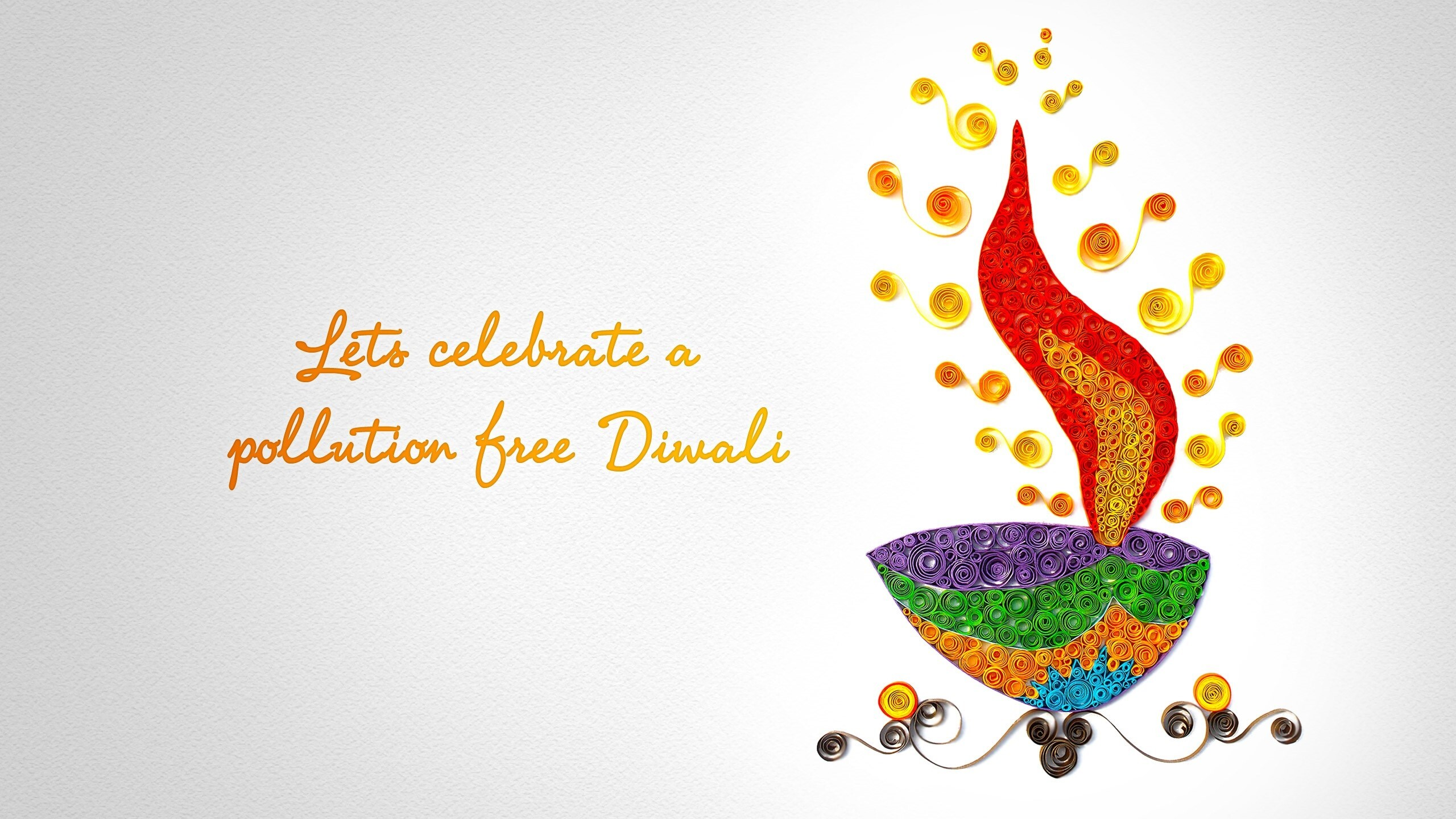 Lets Celebrate Pollution Free Diwali In India Wallpapers